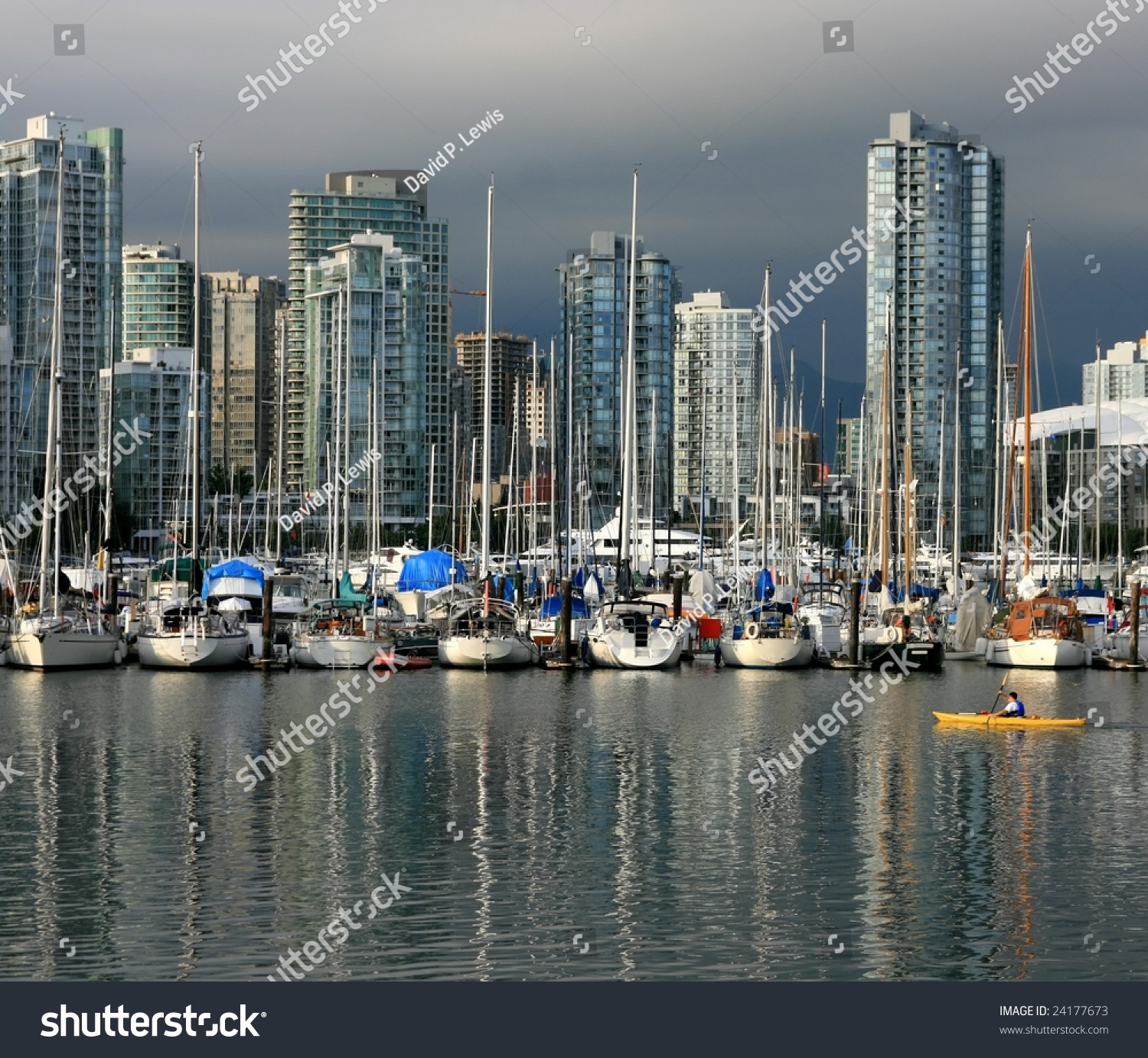 Yaletown Vancouver: False Creek And Yaletown In Vancouver, British Columbia