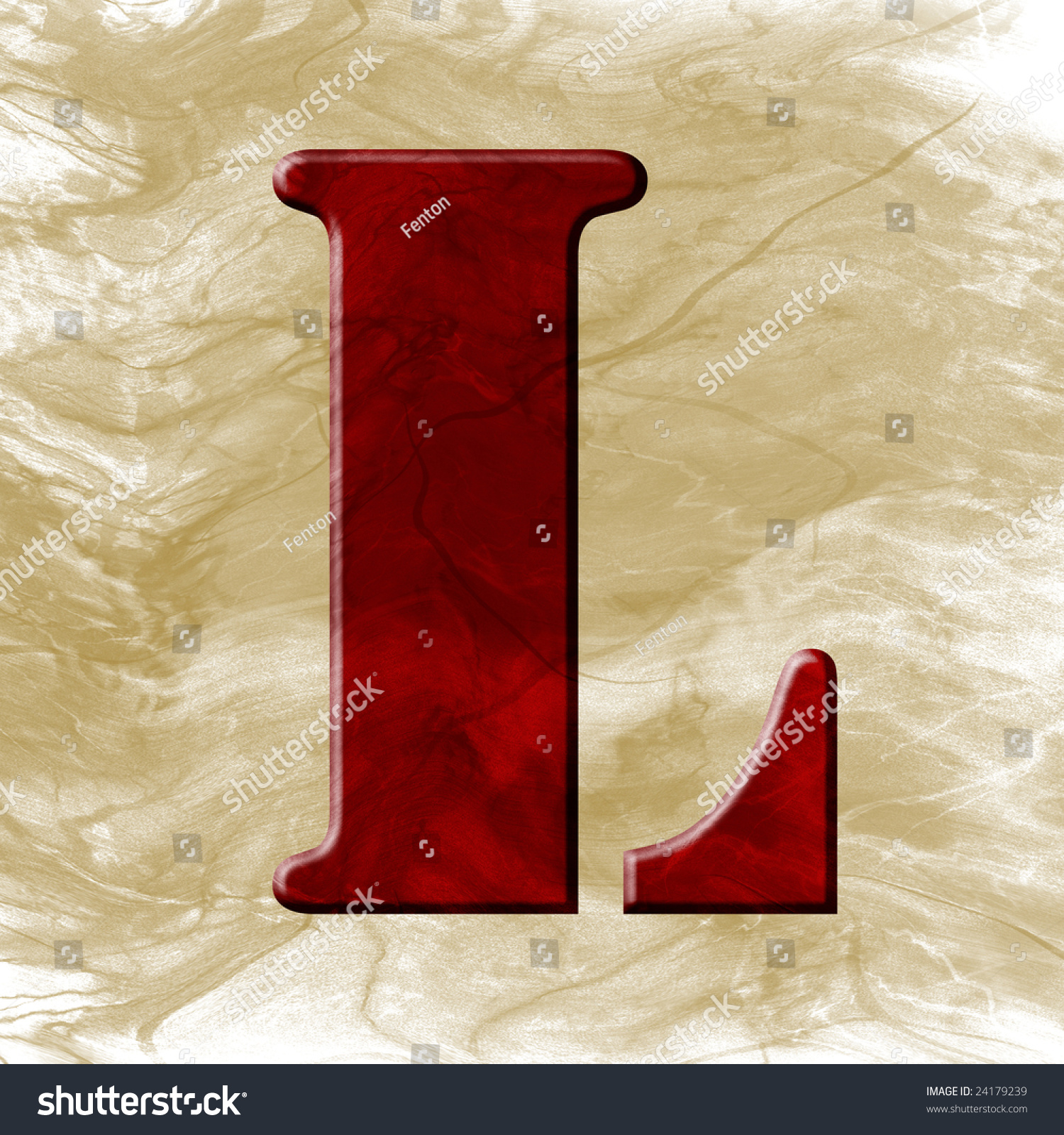 letter a photography wax font letter l stock photo 24179239 16410 | stock photo wax font letter l 24179239