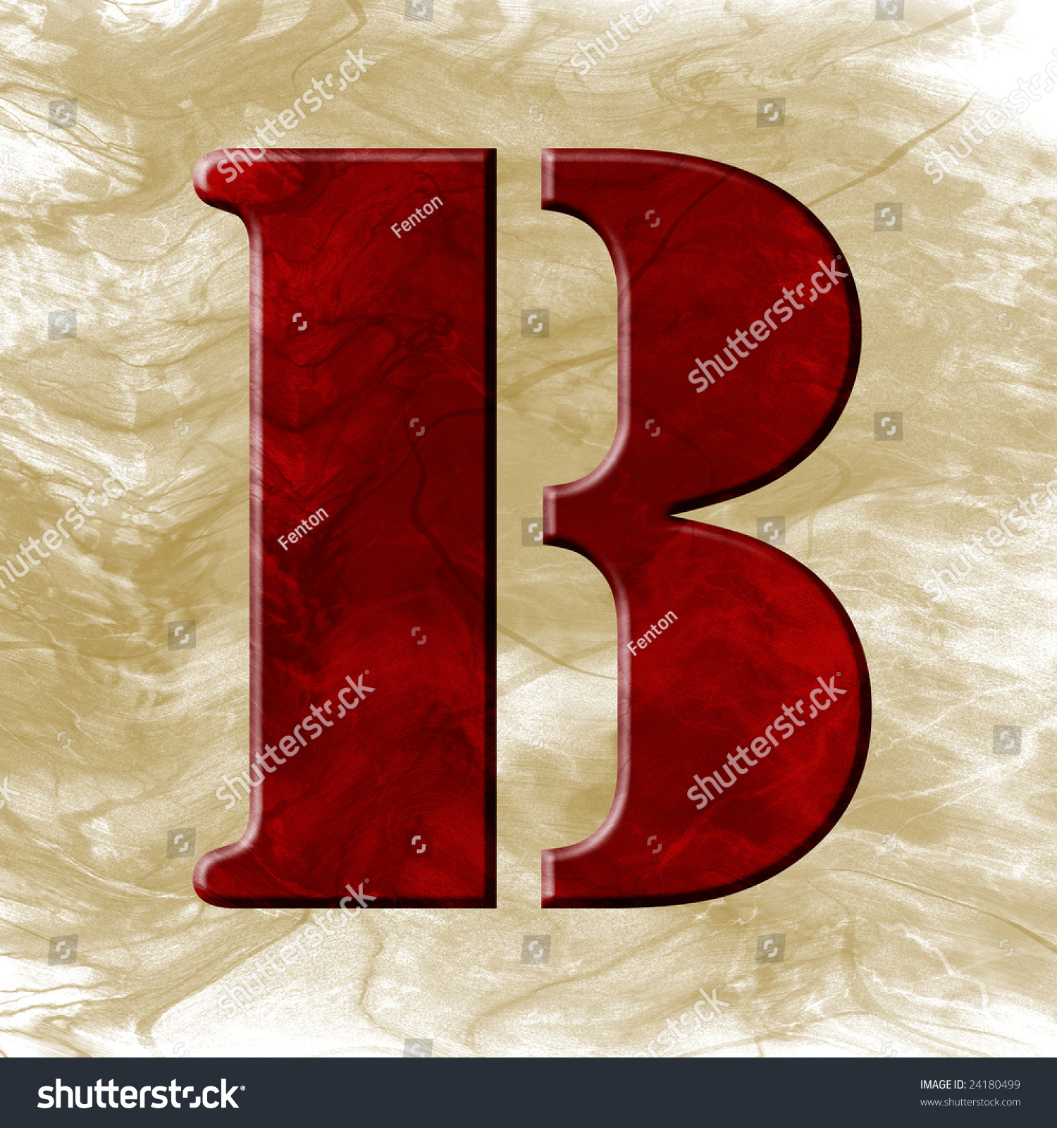 letter a photography wax font letter b stock photo 24180499 16410 | stock photo wax font letter b 24180499