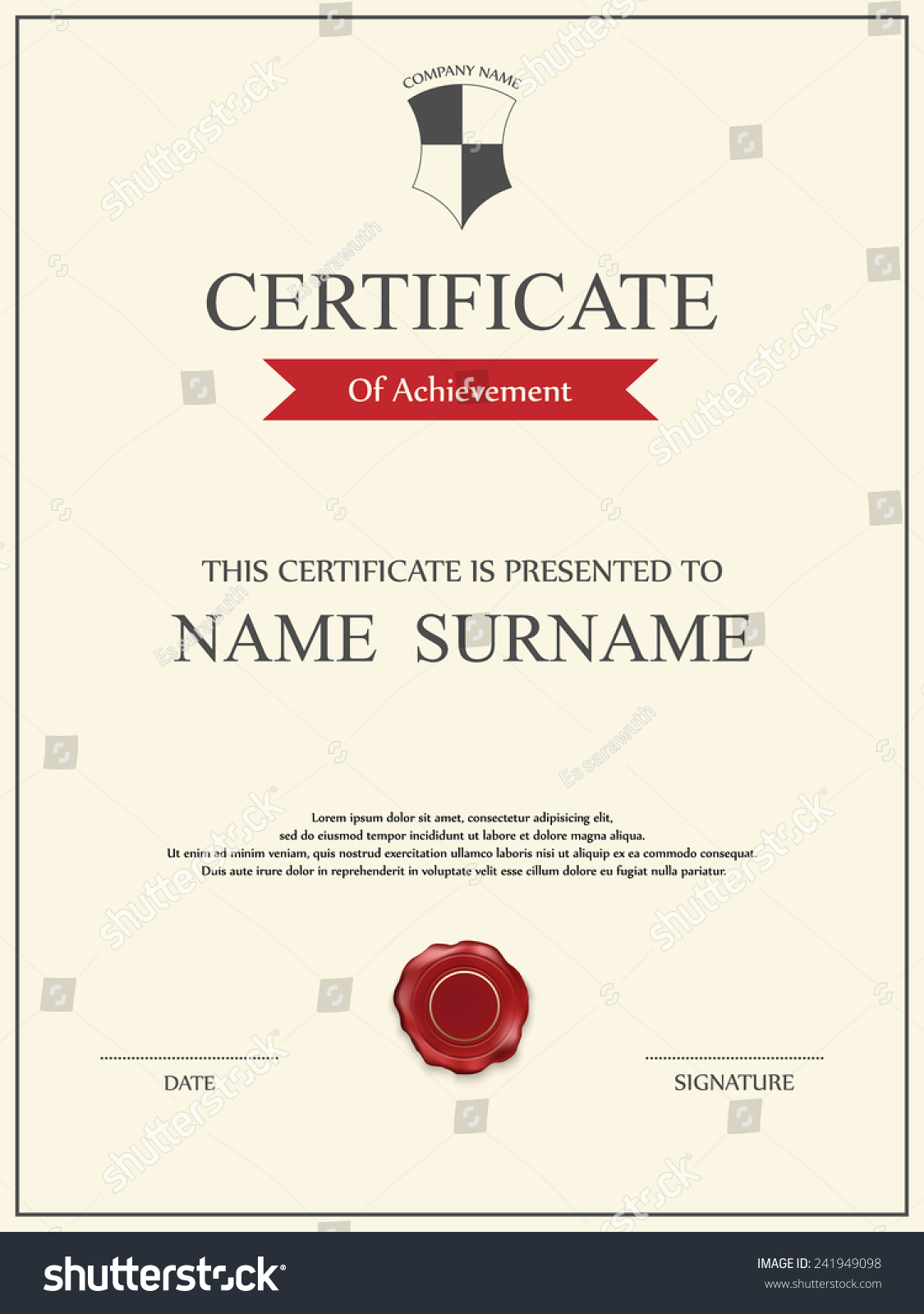 Football certificate template gallery templates example free football certificate template resume format for teacher job 100 soccer certificate template certificate of achievement stock yadclub Images