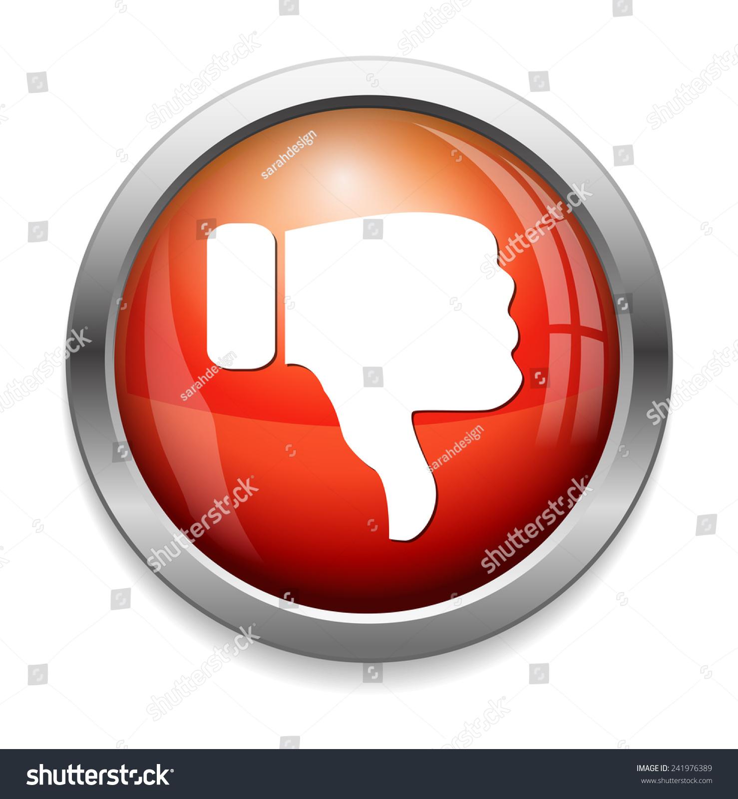 foto de Dislike (Thumbs Down Icon) Stock Photo 241976389