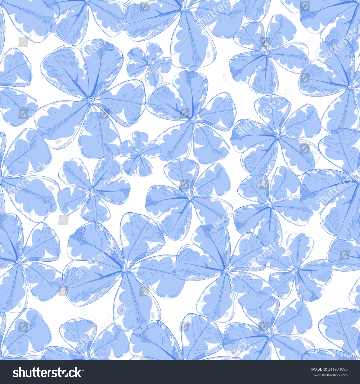 Vector flower seamless pattern blue floral stock vector royalty vector flower seamless pattern blue floral background for decoration textiles pillows blankets izmirmasajfo