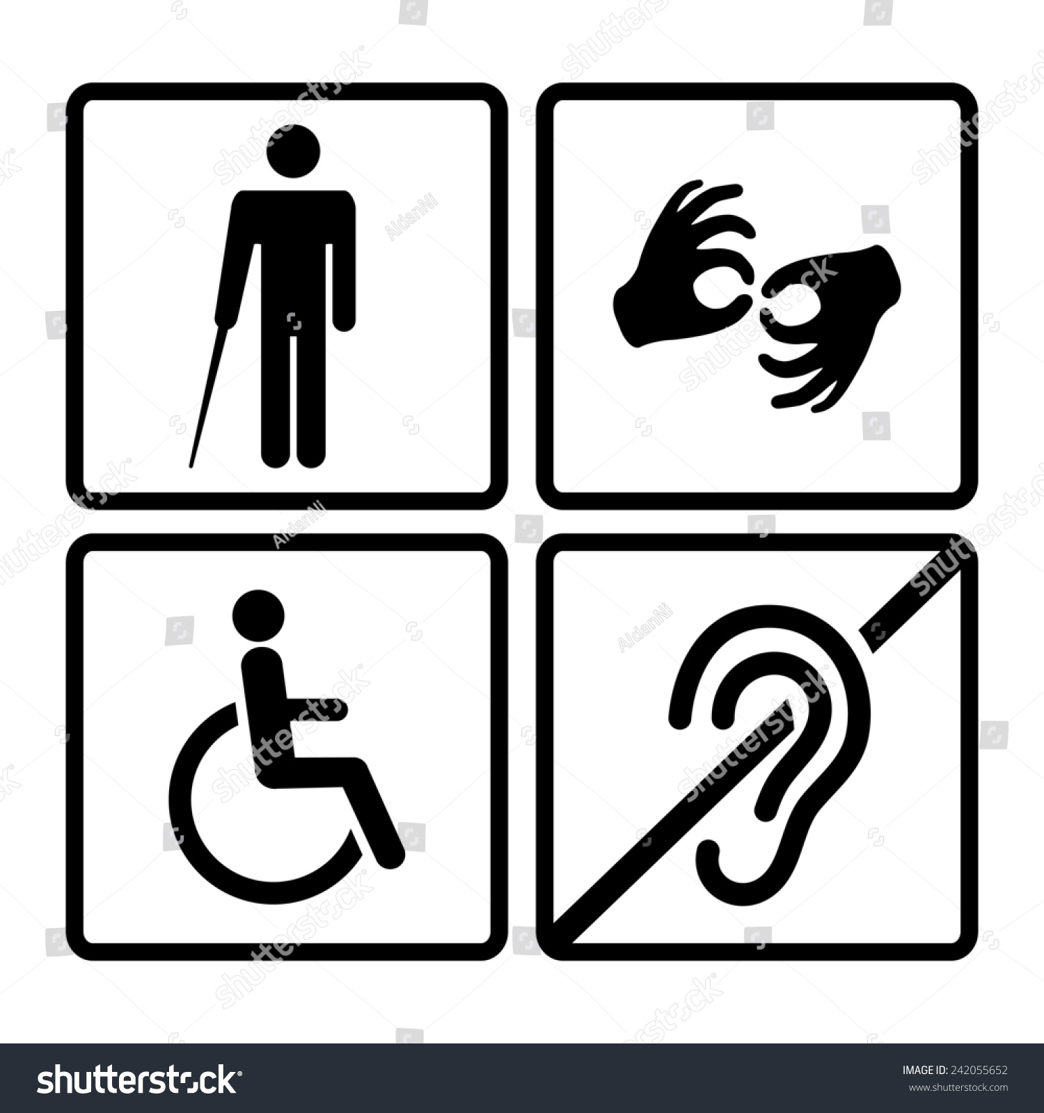 is deaf a disability Deafness: a disability or a difference erica r harvey american university  washington college of law follow this and additional works at:.