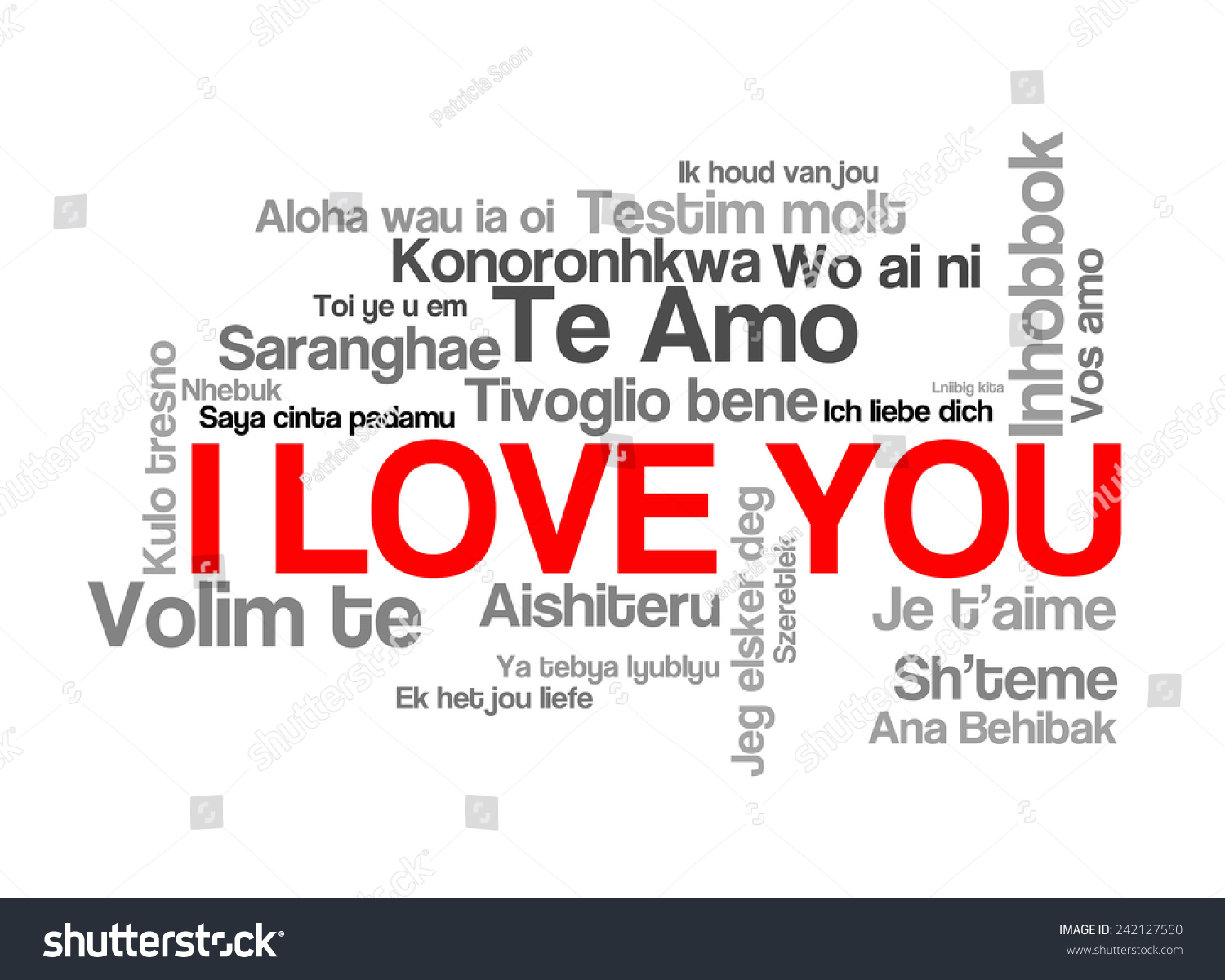 Love words i love you different stock illustration 242127550 love words i love you different stock illustration 242127550 shutterstock thecheapjerseys Images
