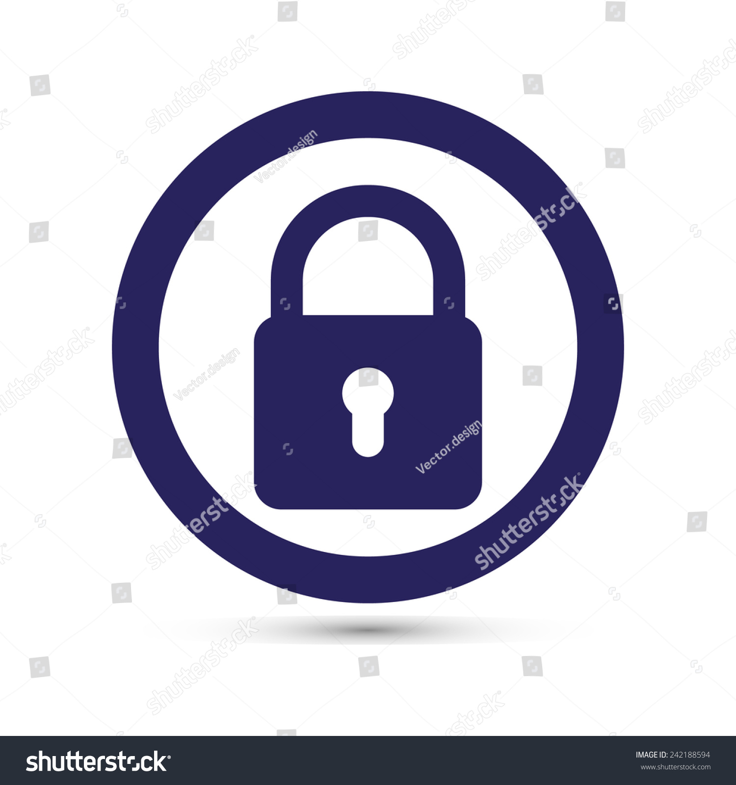 what is the lock symbol on my iphone lock symbol stock vector illustration 242188594 21224