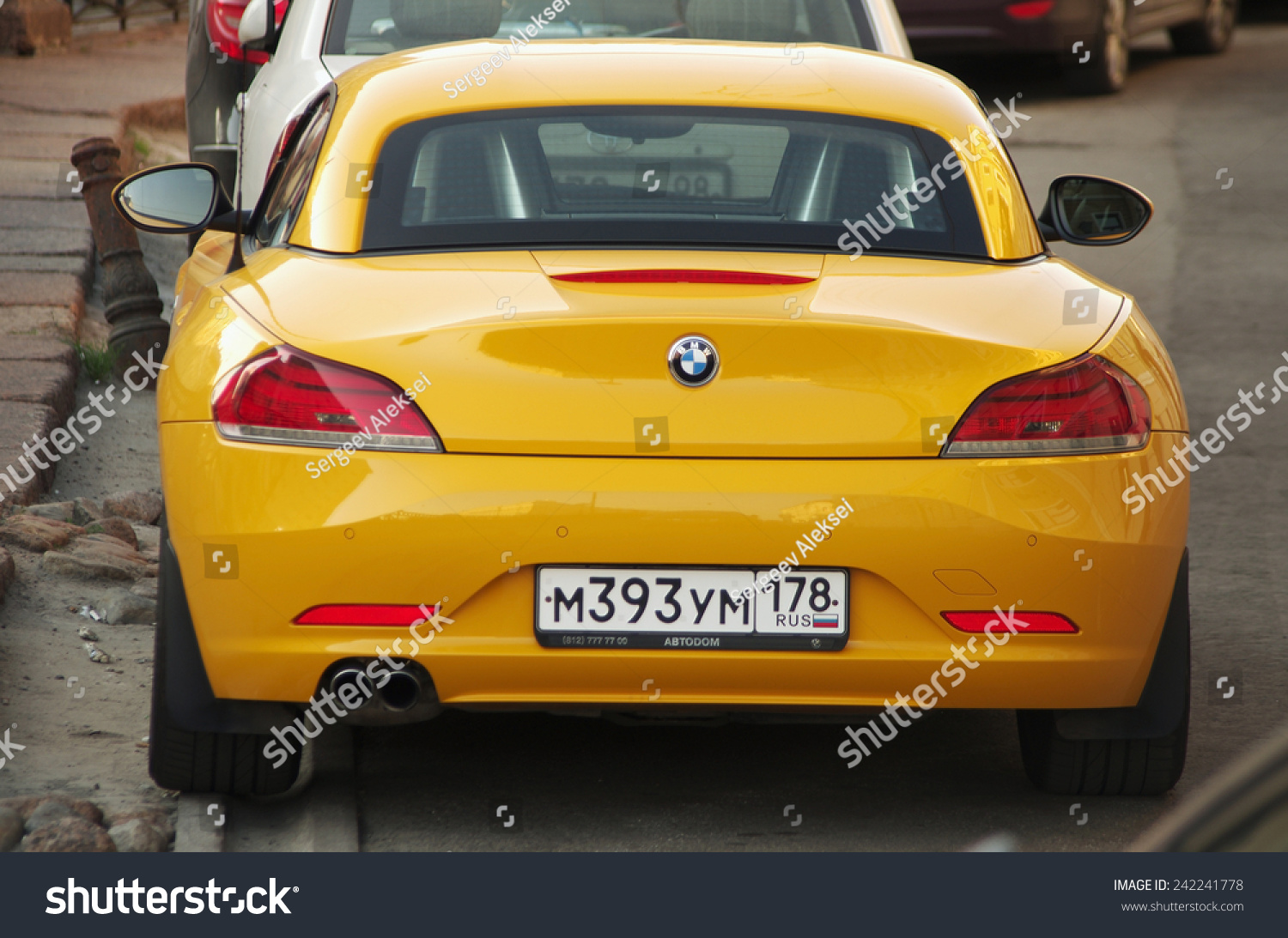 Bmw Z4 2014 Yellow Www Pixshark Com Images Galleries