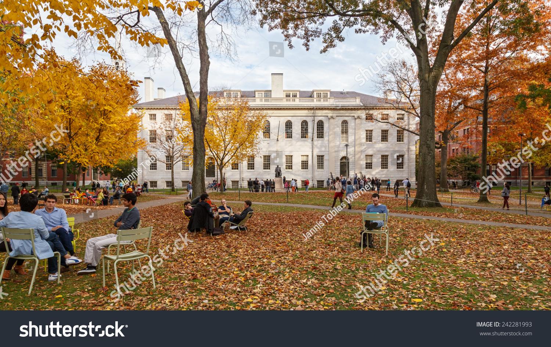 CAMBRIDGE MA USA NOVEMBER 2 2013 Stock Photo (Edit Now) 242281993 ...