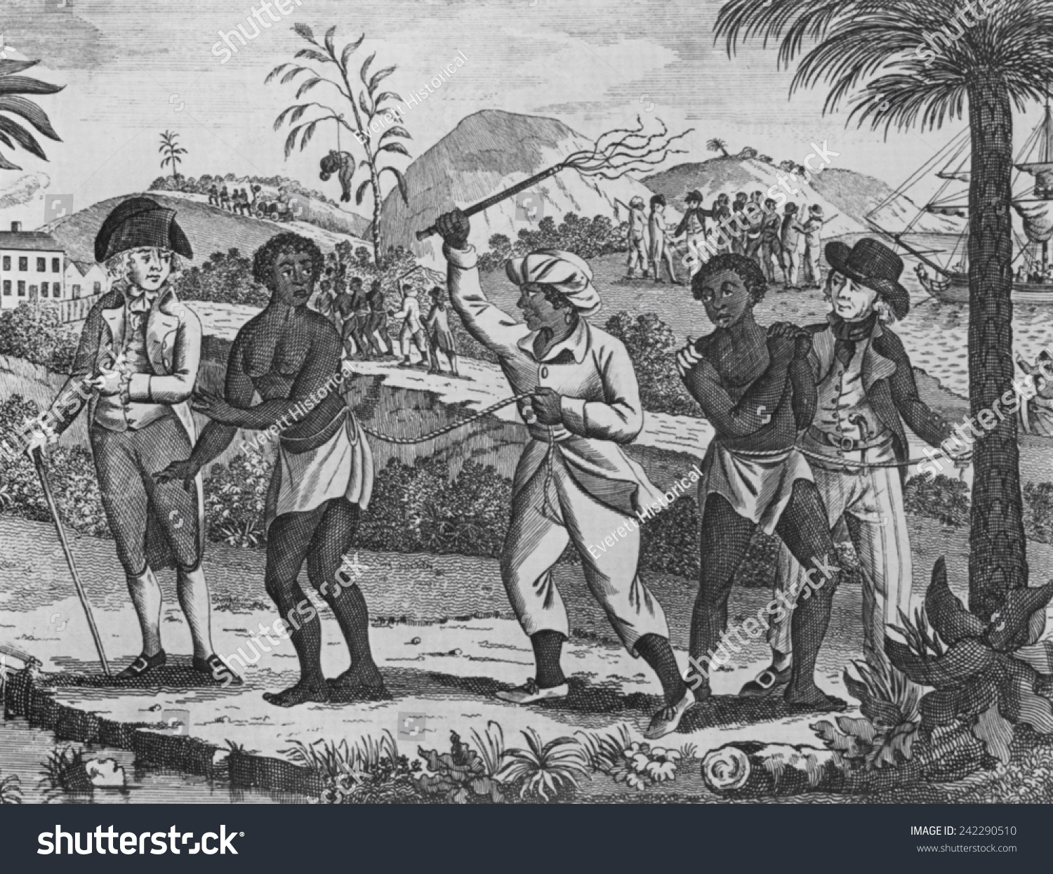 slavery in 18th century essay An 18th century plantation society what is a plantation society the plantation society was one which was highly stratified socially and economically.