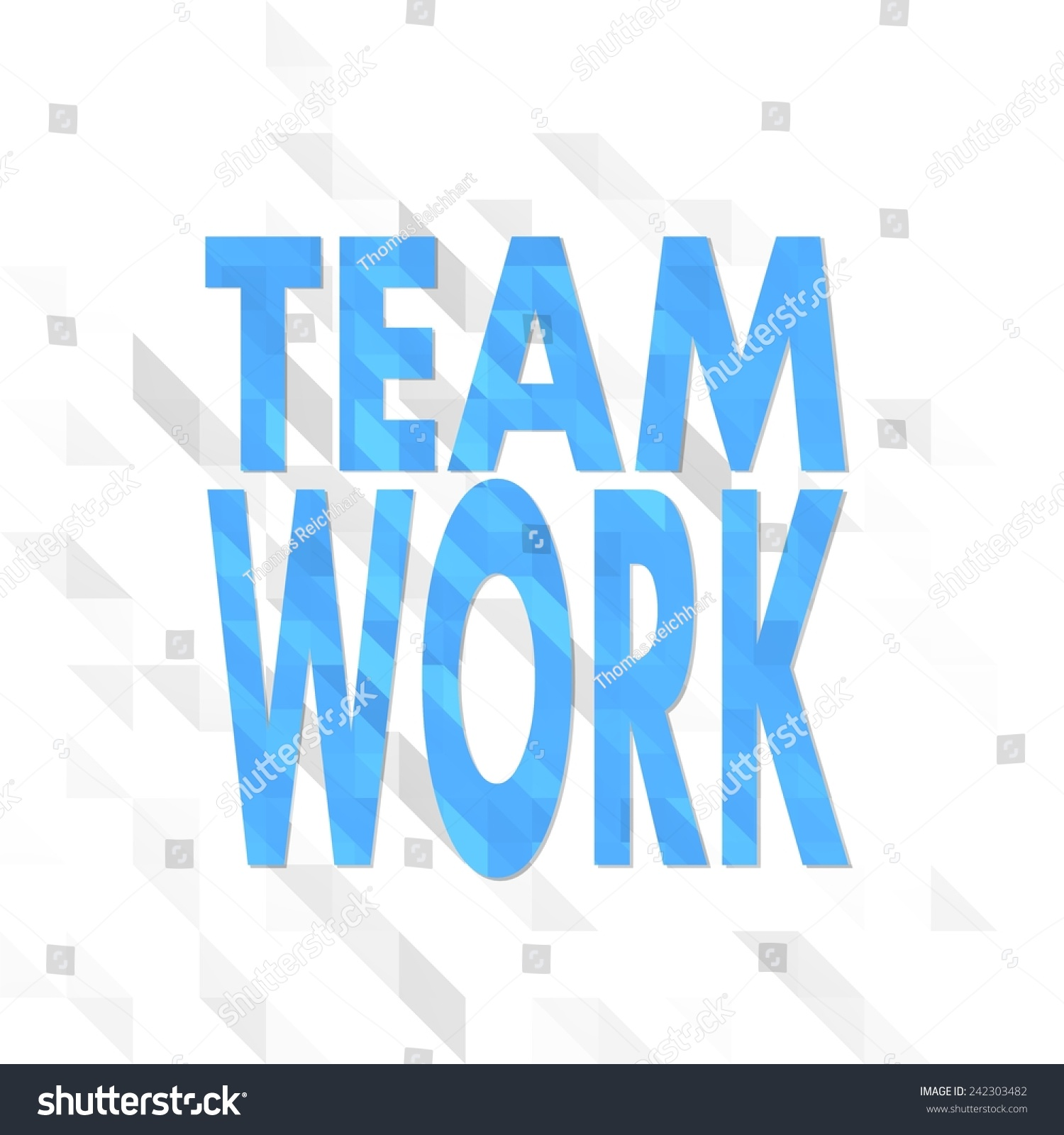 Origami sign low poly teamwork isolated stock illustration origami sign low poly of teamwork isolated on trendy white triangle background jeuxipadfo Gallery