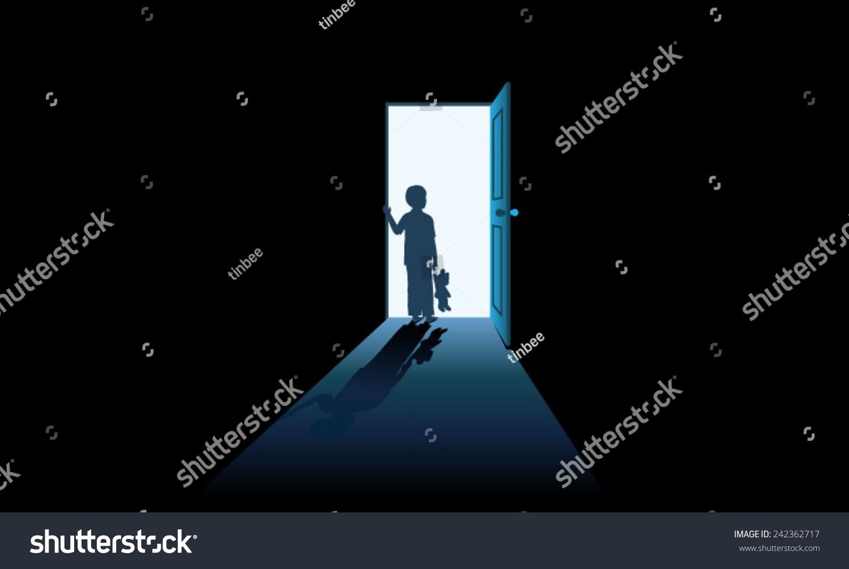Child Opening Door