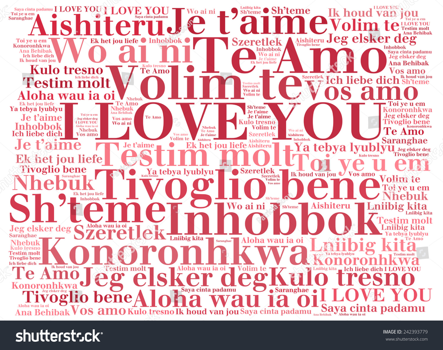Love words i love you different stock illustration 242393779 love words i love you in different languages of the world words cloud altavistaventures Choice Image