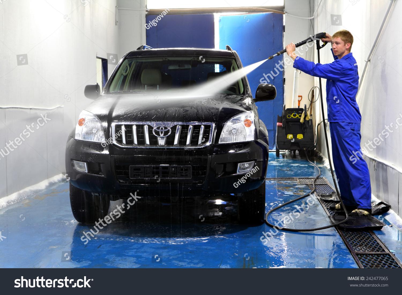 Car Wash Services : Saint petersburg russia june stock photo