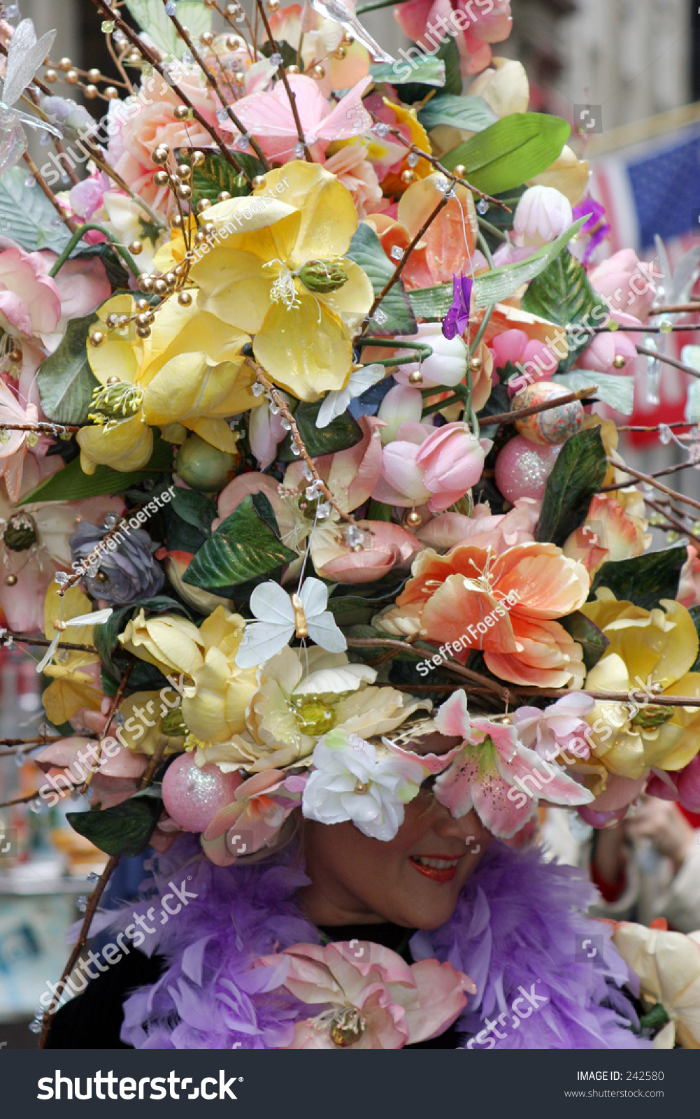 Giant Flower Hat Stock Photo (Royalty Free) 242580 - Shutterstock