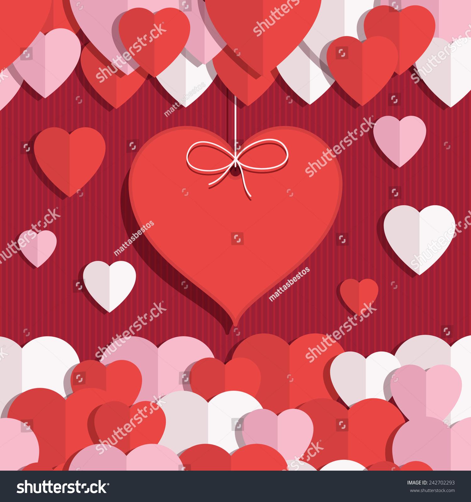 pink valentines hearts
