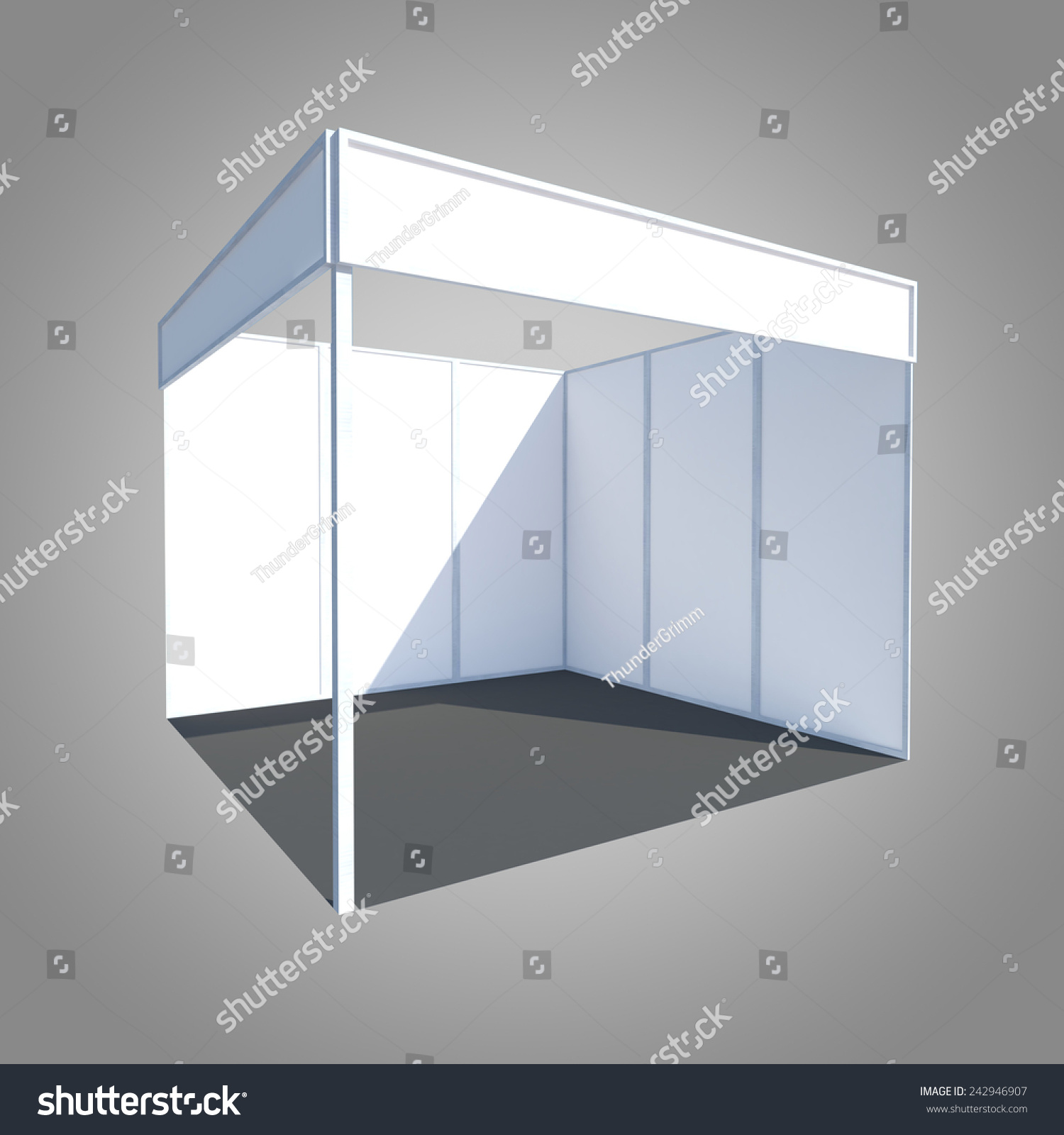 Exhibition Booth Partition : Exhibition stand booth kiosk partition event stock