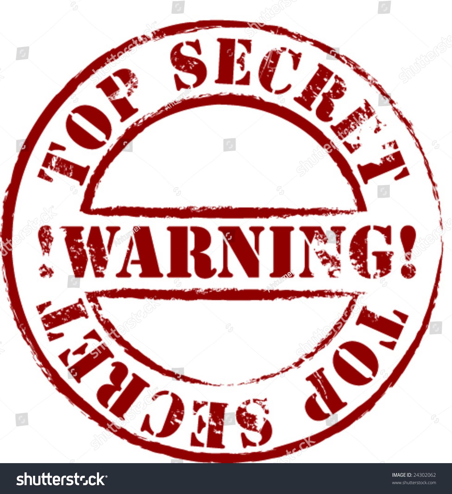 top secret vector file stock vector 24302062 shutterstock