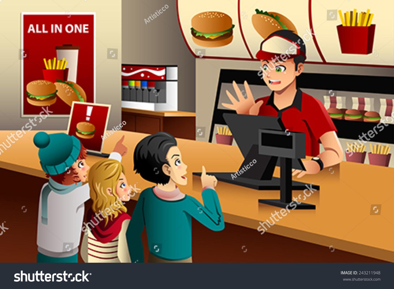 Placing Fast Food Order