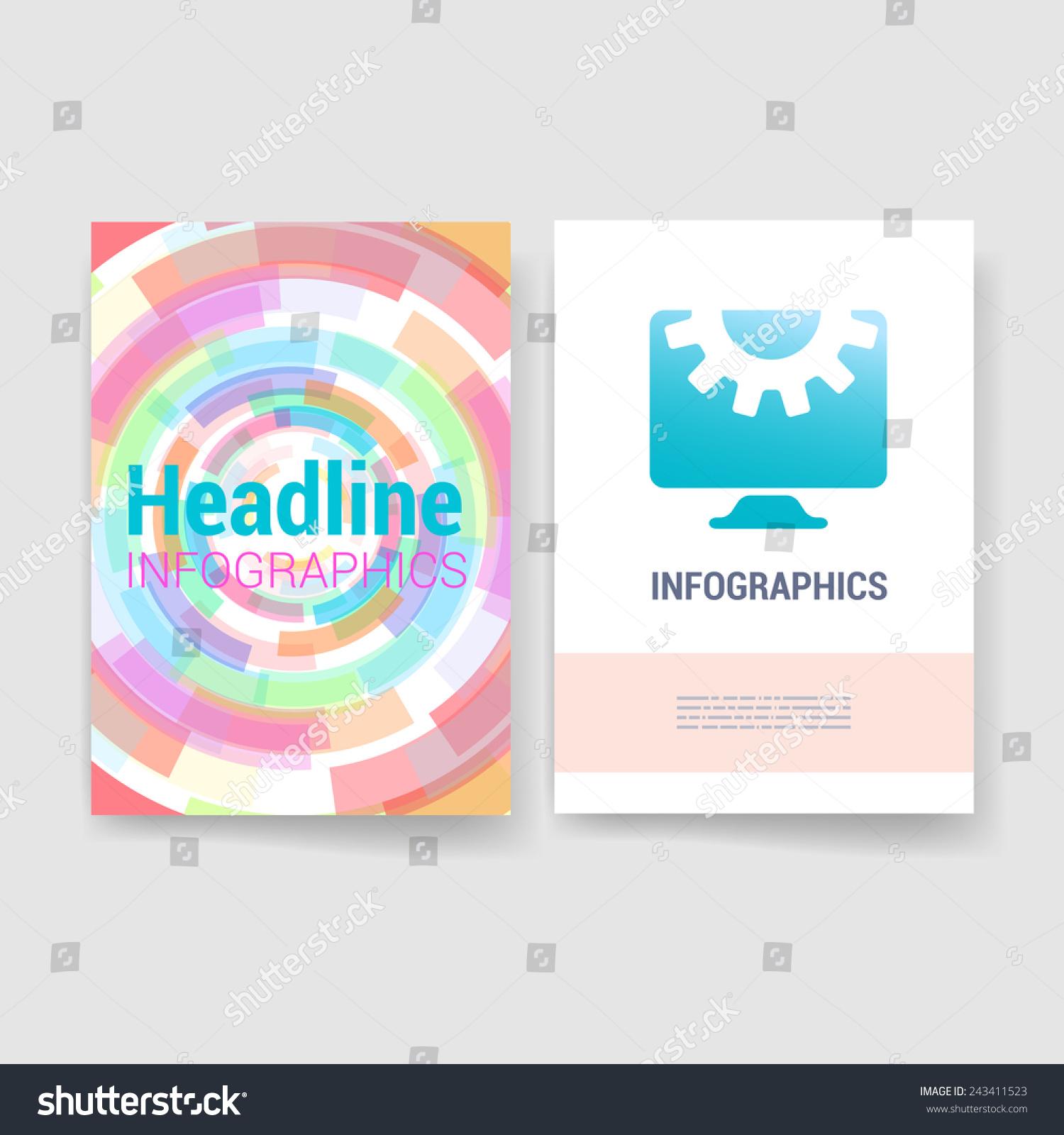 Set Flyer Brochure Design Templates Mobile Stock Vector HD (Royalty ...