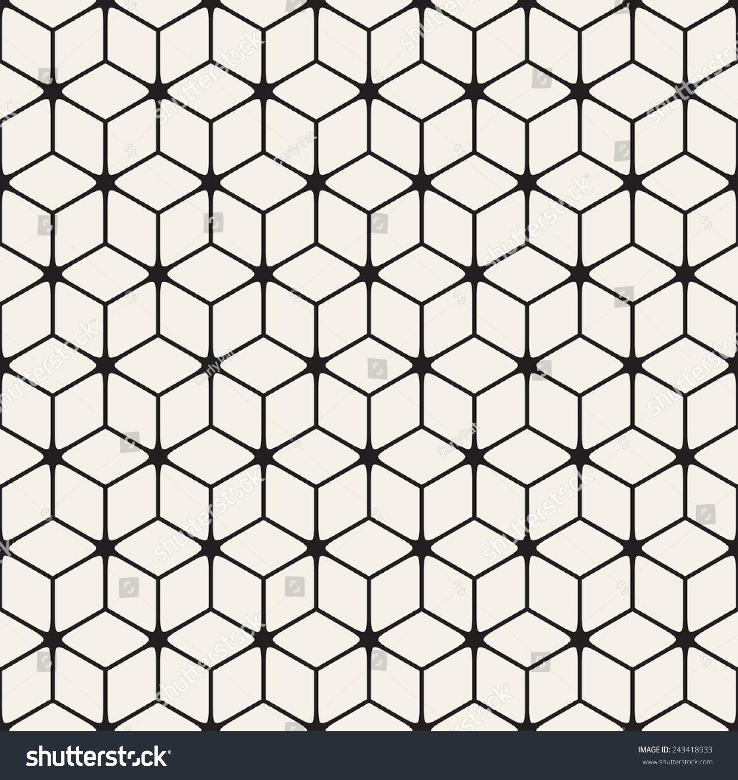 Vector seamless pattern modern stylish texture stock for Modern flooring pattern texture