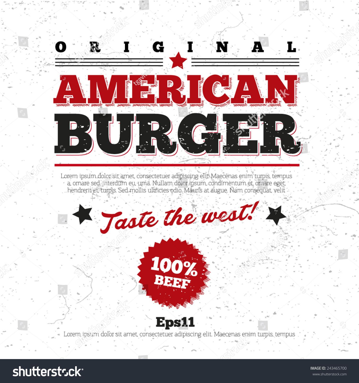 menu logo design background restaurant stock vector (royalty free