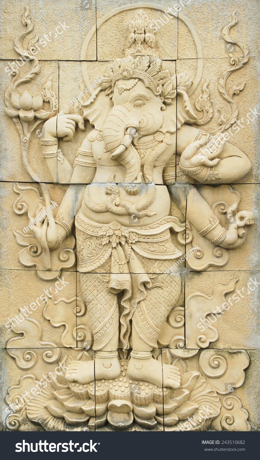 Bangkok thailand jul 26 ganesha sculpture stock photo edit now