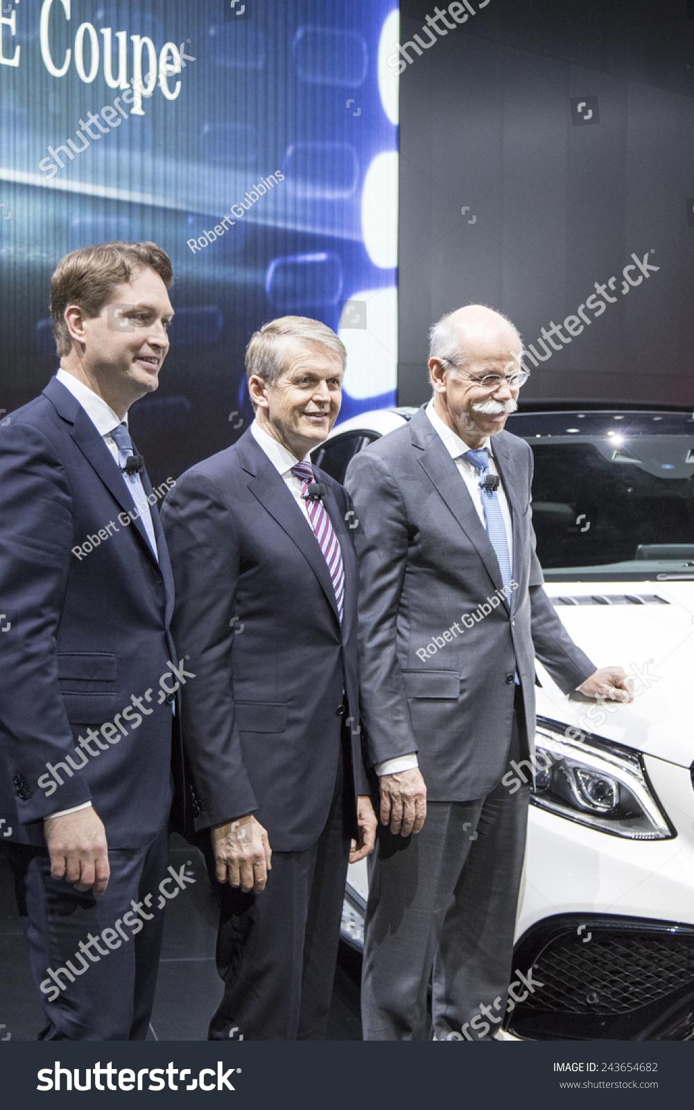 Mercedesbenz ceo dieter zetsche thomas weber stock photo for Mercedes benz ceo