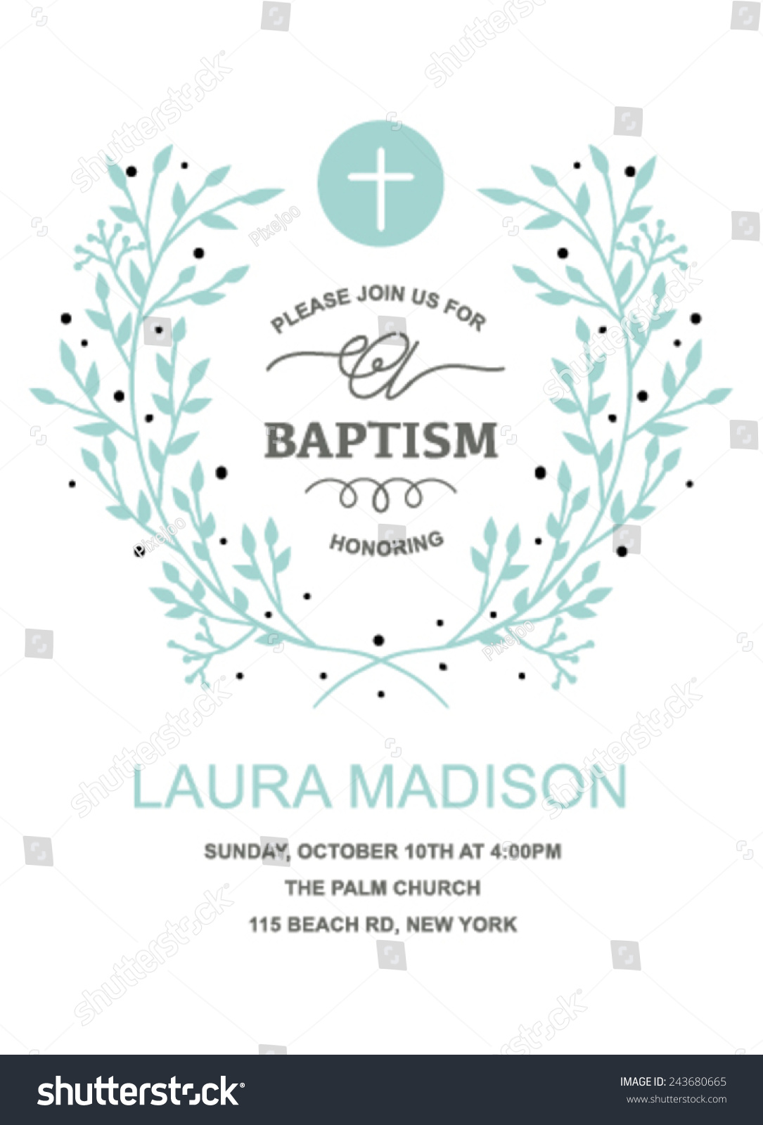 Baptism Invitations For Boy is luxury invitation layout