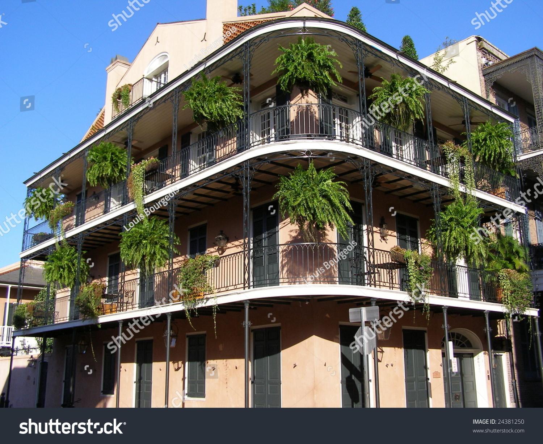Balcony Of Three Story Home