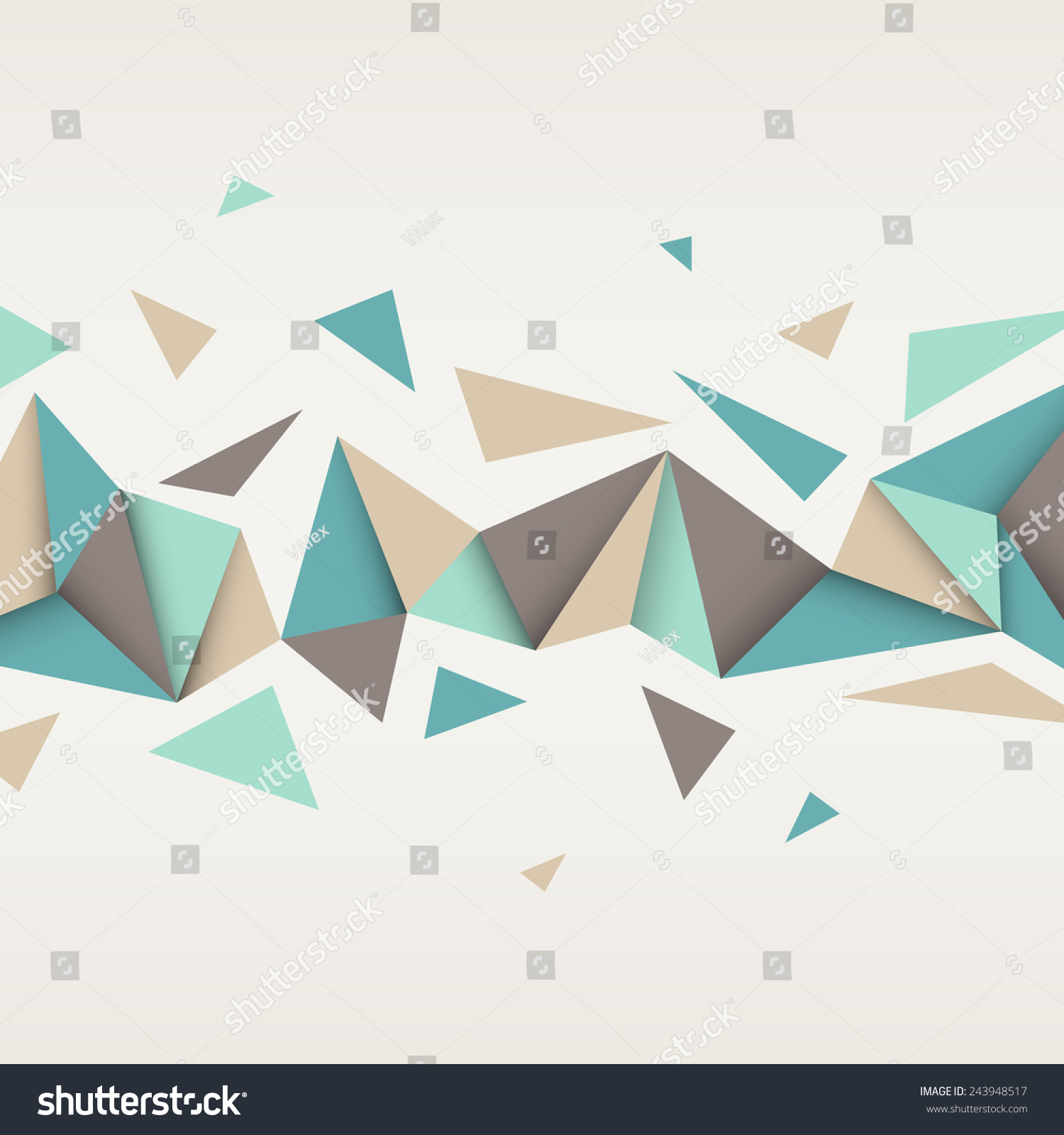 Vector Background Illustration Abstract Texture Triangles 243948517