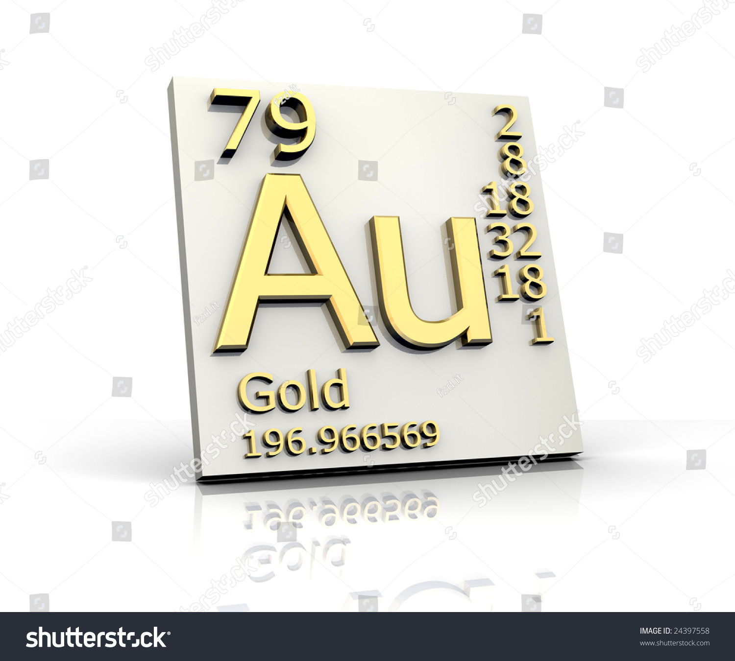 Gold form periodic table elements stock illustration 24397558 gold form periodic table of elements gamestrikefo Image collections