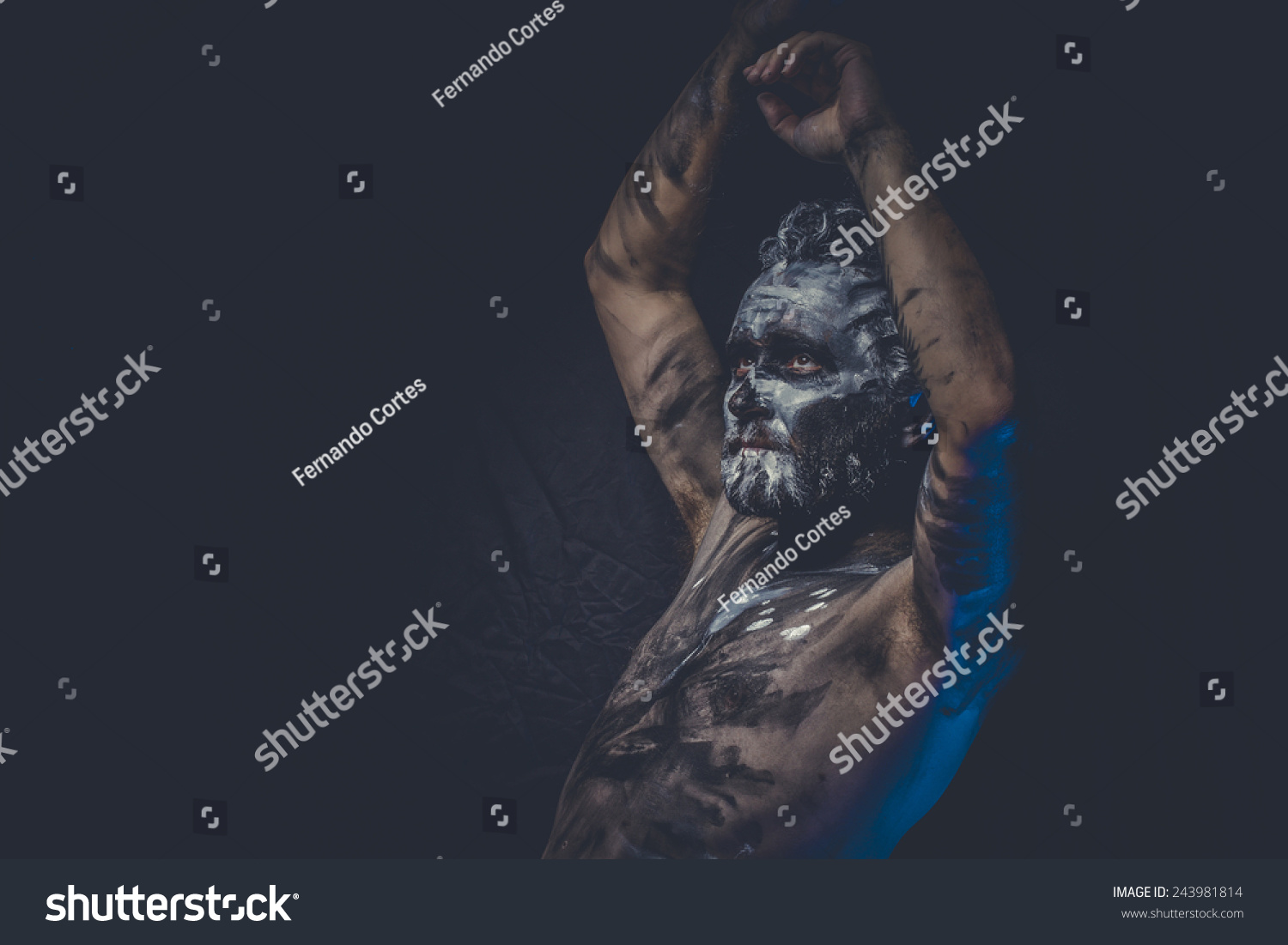 Man Covered In Mud Stock Photos, Images, & Pictures