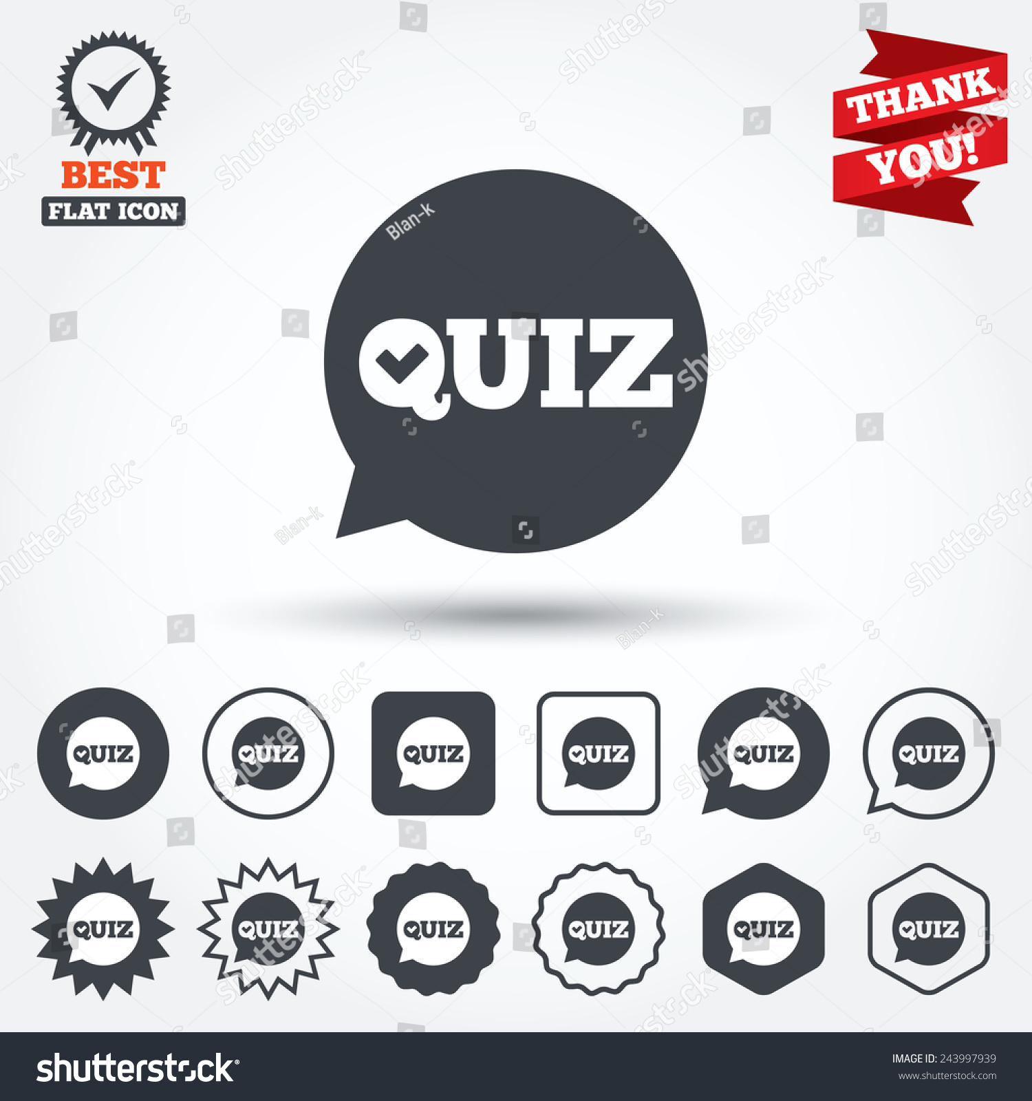 quiz check in speech bubble sign icon questions and answers game save to a lightbox