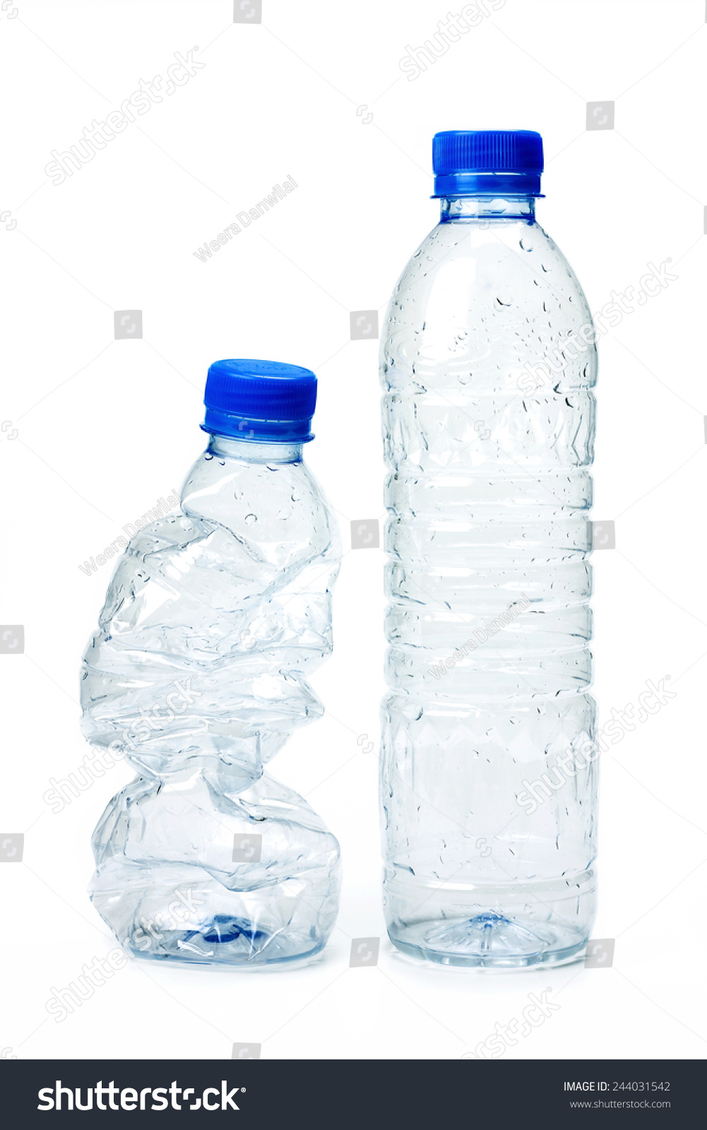 Plastic Bottle Recycling Used Plastic Bottle Recycling Stock Photo 244031542 Shutterstock