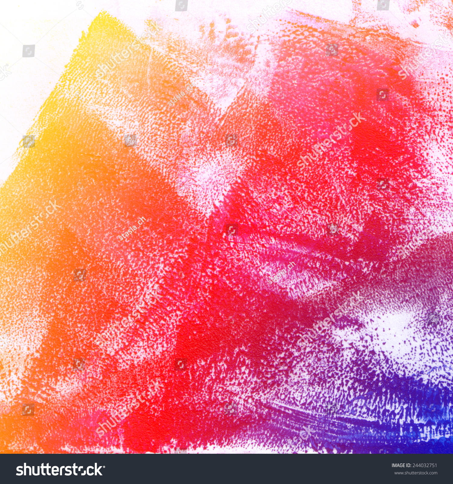 Abstract Rainbow Background Oil Paint Texture Stock ...