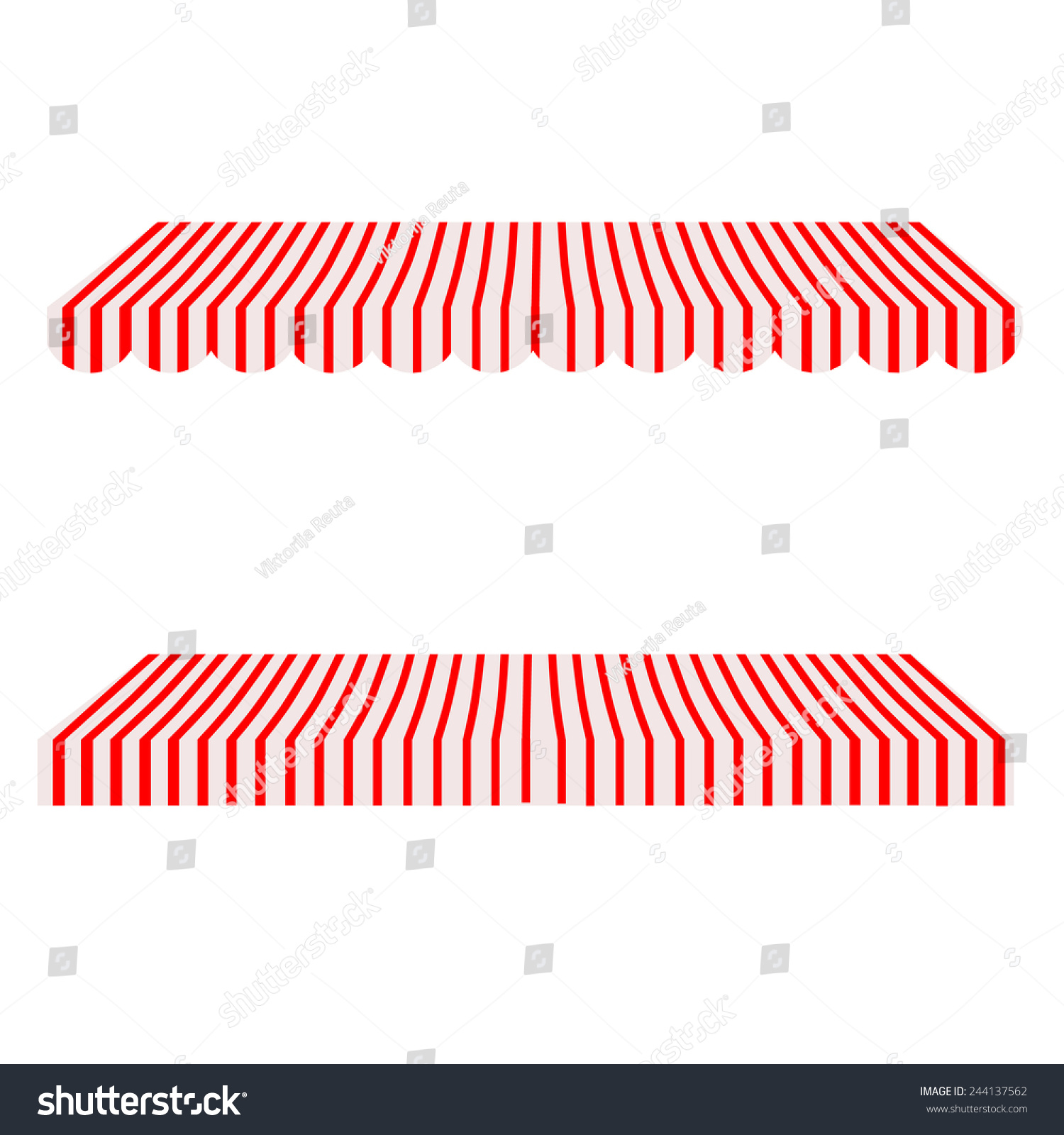Red And White Striped Awning 28 Images Awning Stock