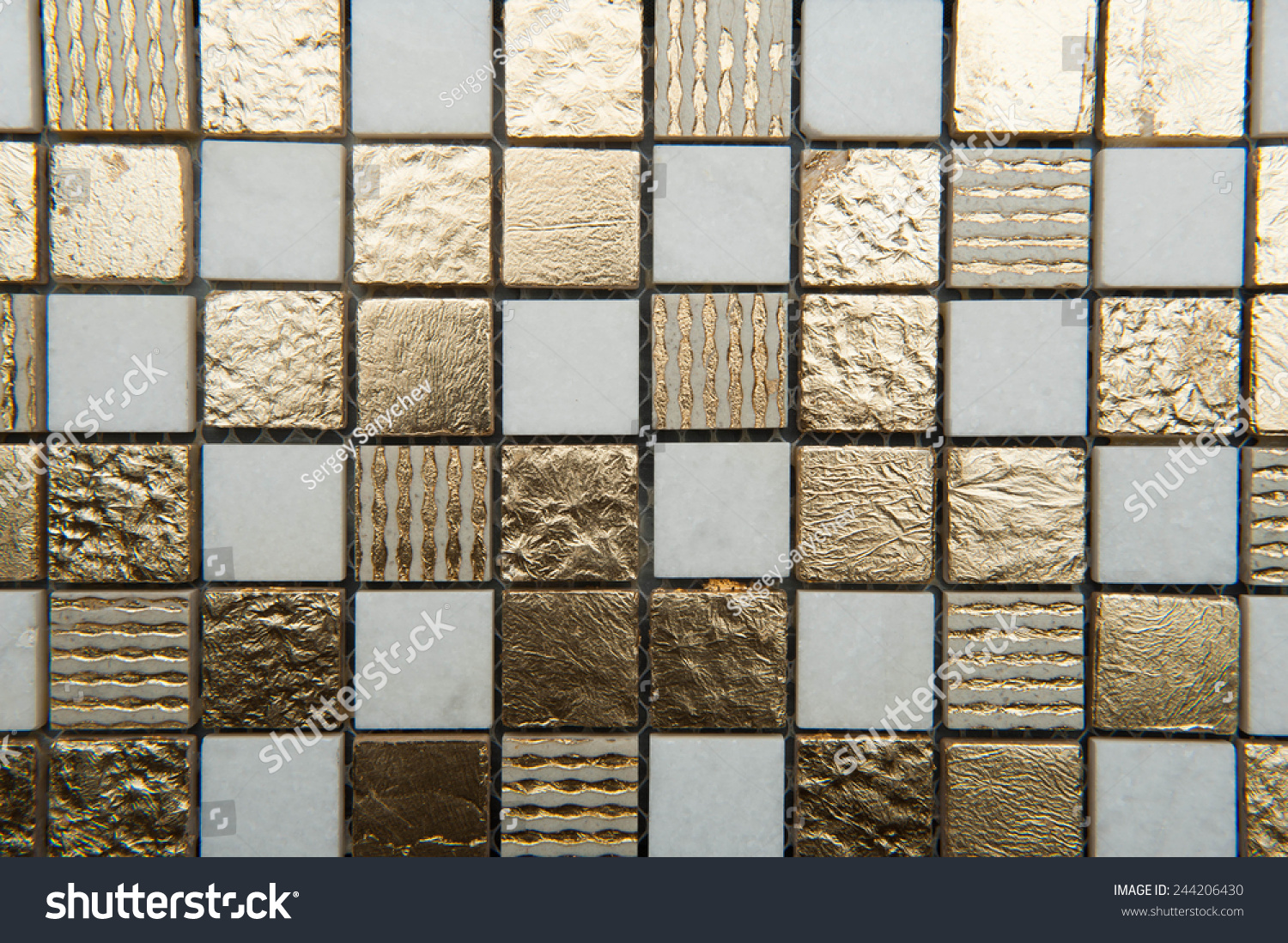 Texture Mosaic Tiles Texture Mosaic Bathroom Stock Photo 244206430 Shutterstock