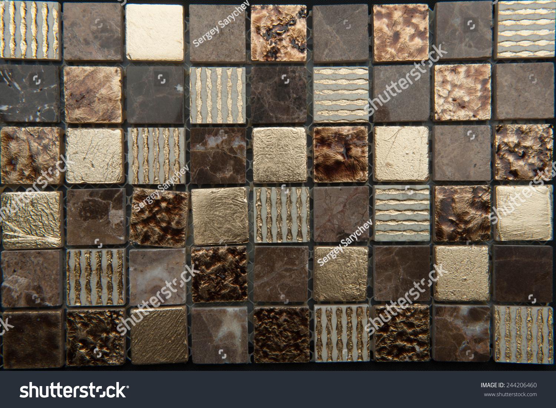 Texture Mosaic Tiles Texture Mosaic Bathroom Stock Photo Edit Now 244206460