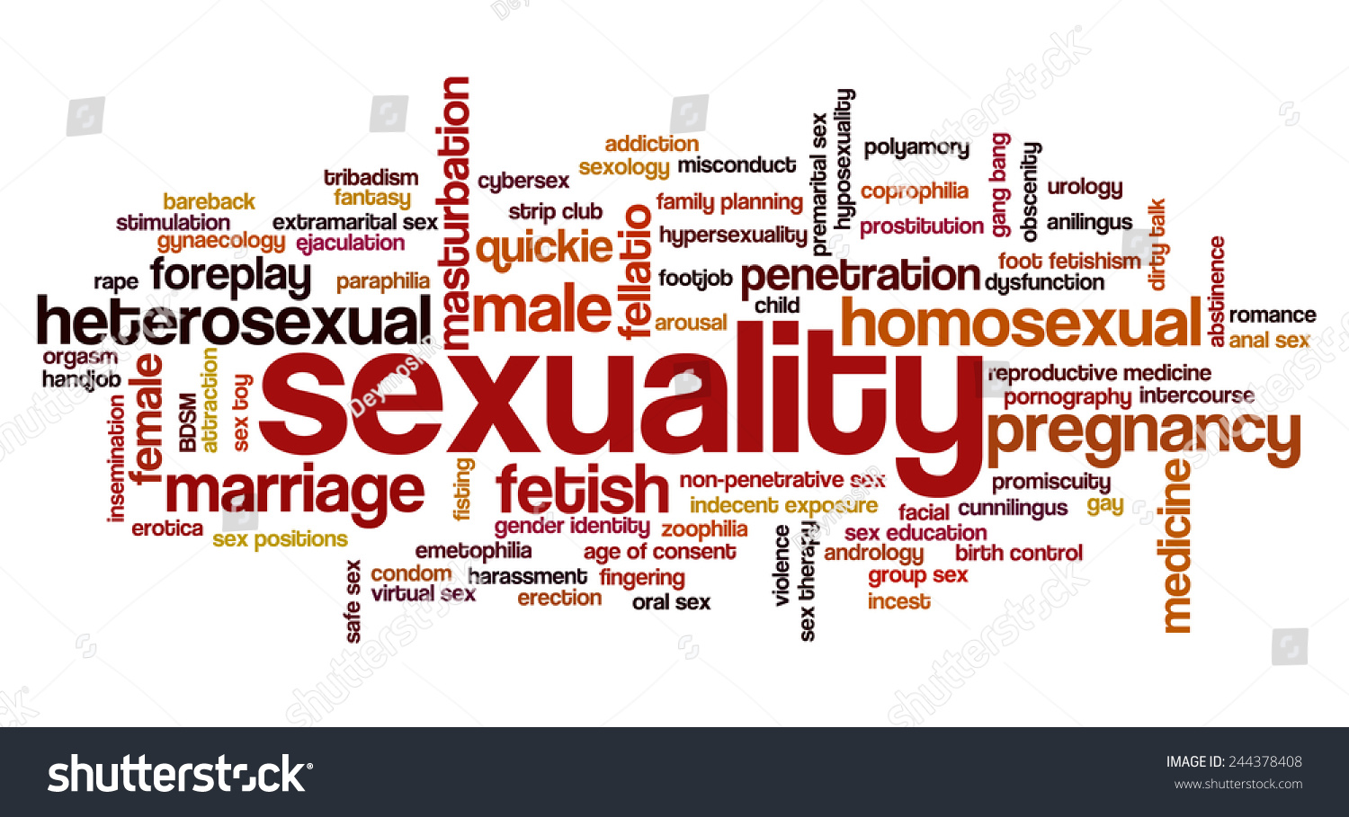 Words related sexuality