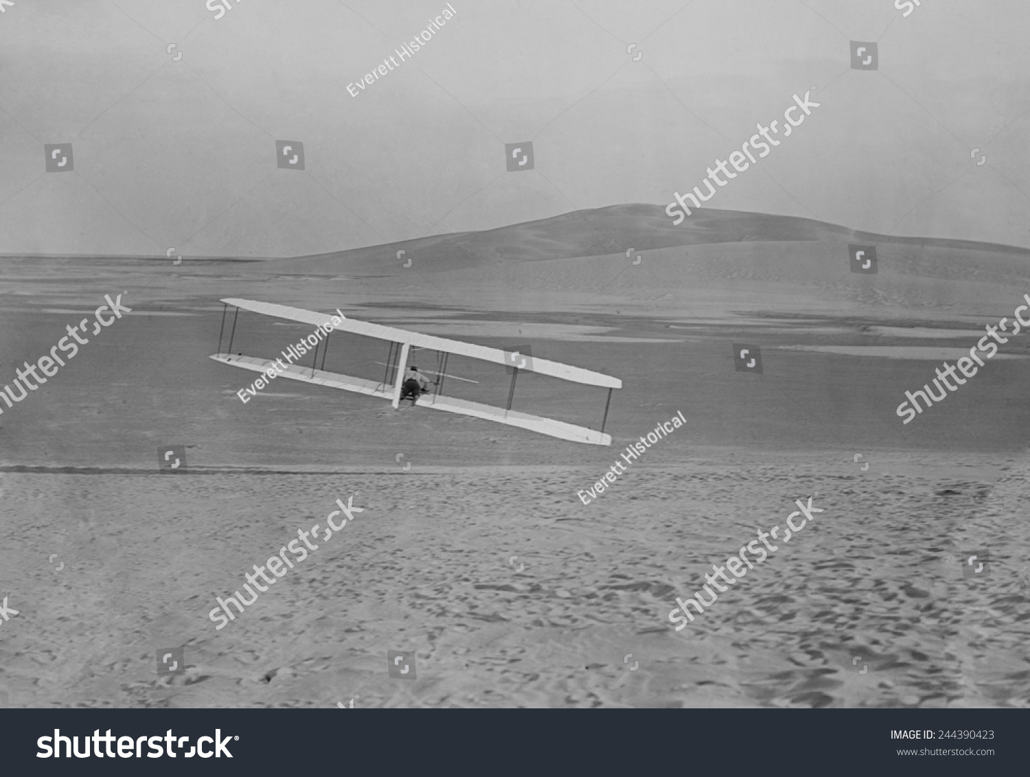 Wilbur Wright 18671912 Making Right Turn Stock Photo (Edit