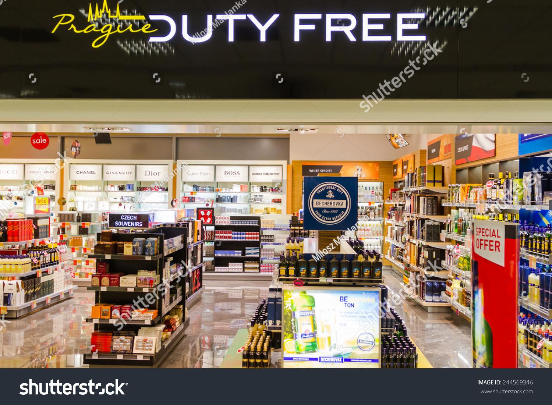 prague nov duty stock photo shutterstock prague nov 08 duty shop on nov 8 2014