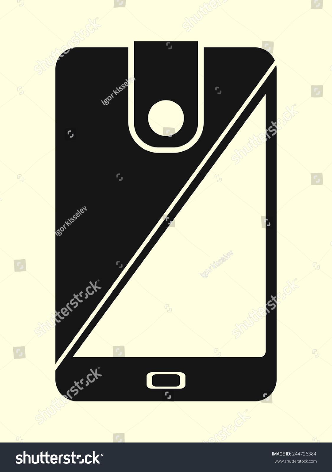 Mobile Money - Cellphone As A Wallet Stock Vector ...