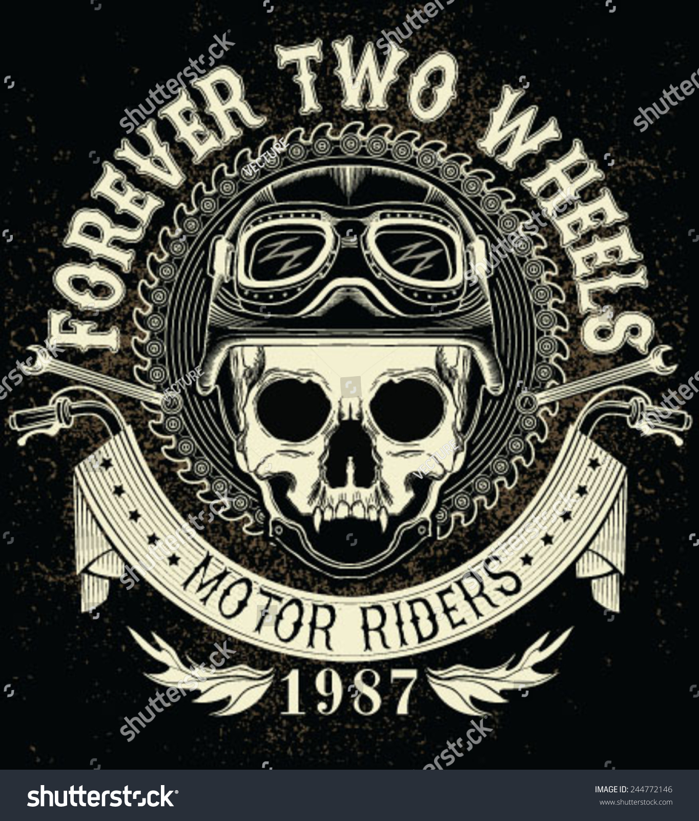 bikers skull logo - photo #13