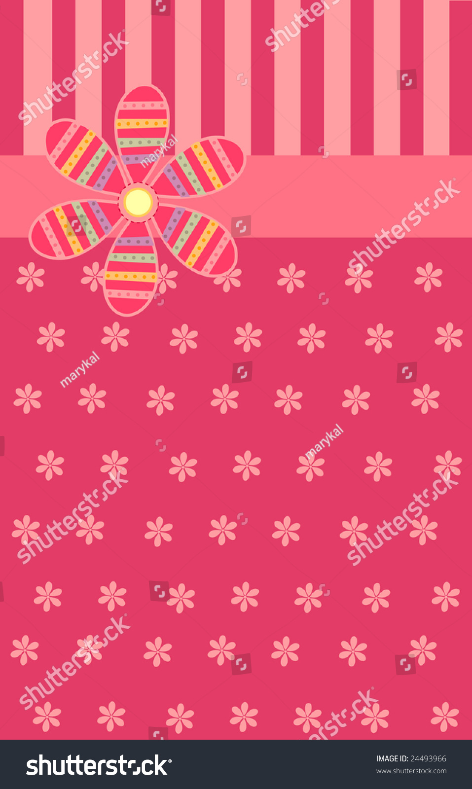 Luxury Greeting Card Special Occasions Stock Vector Royalty Free