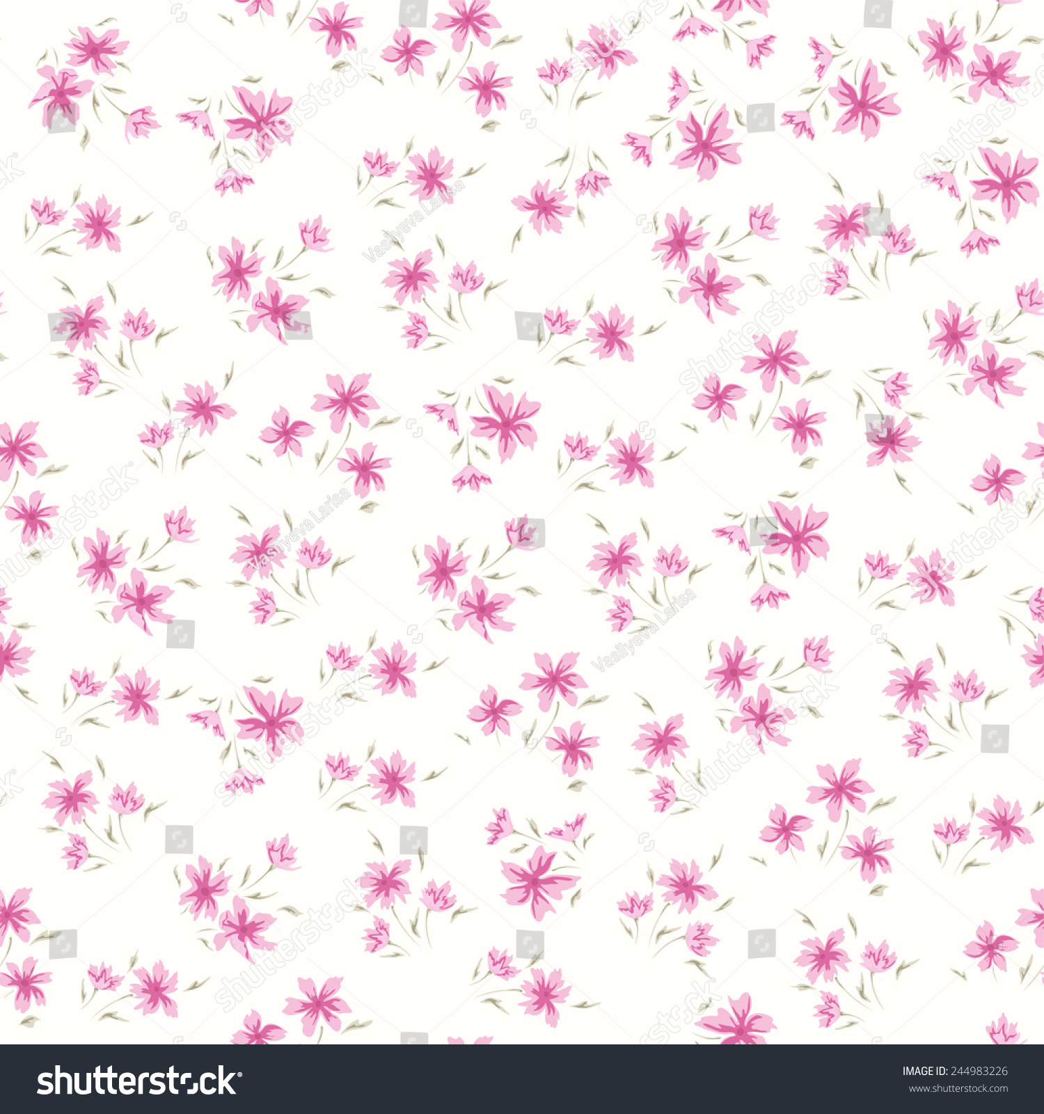 Simple flower pattern background - photo#6