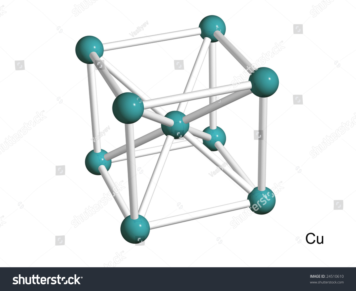 how to draw crystal lattice structures
