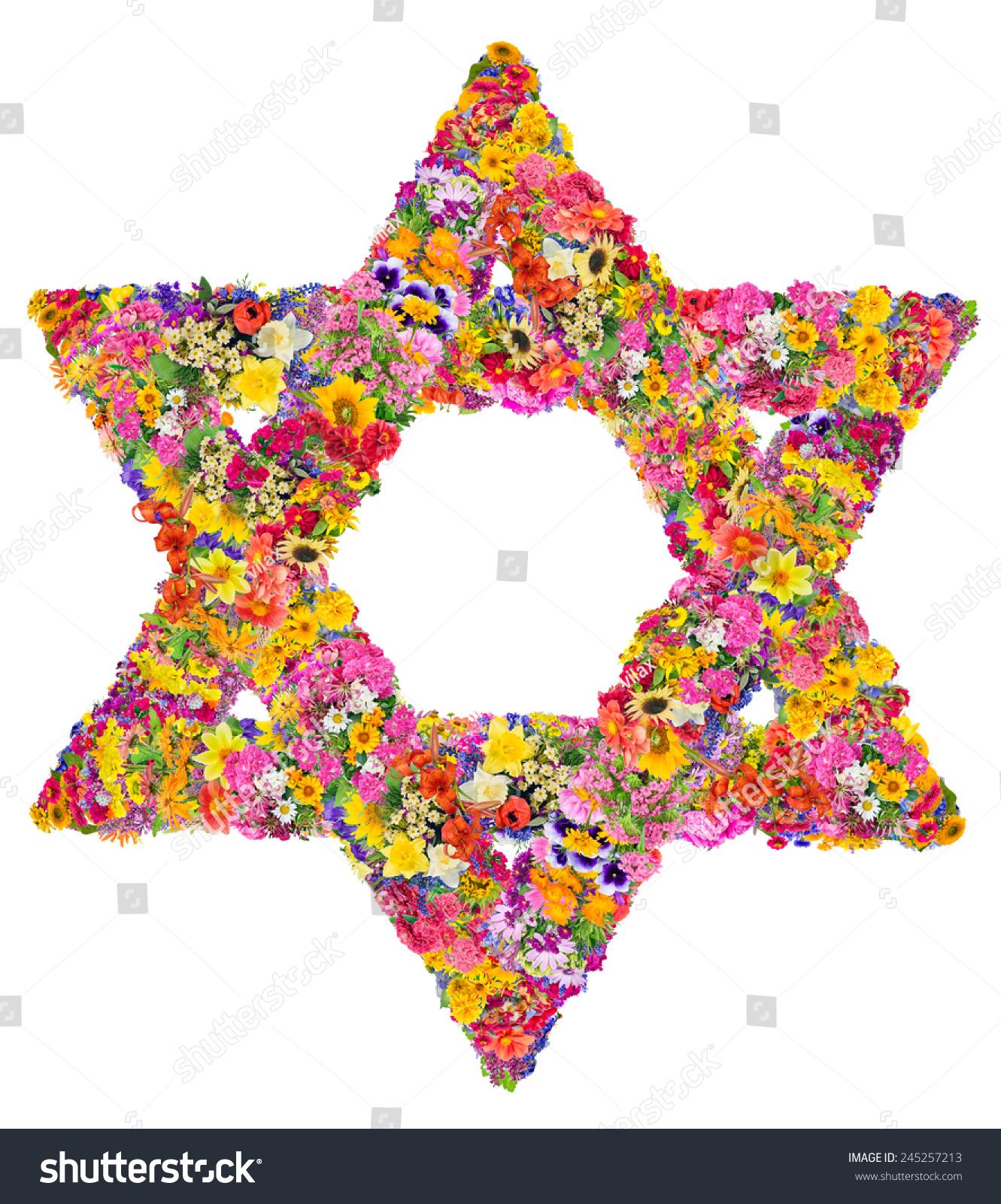 Symbol Judaism David Star Sign Made Stock Photo 100 Legal