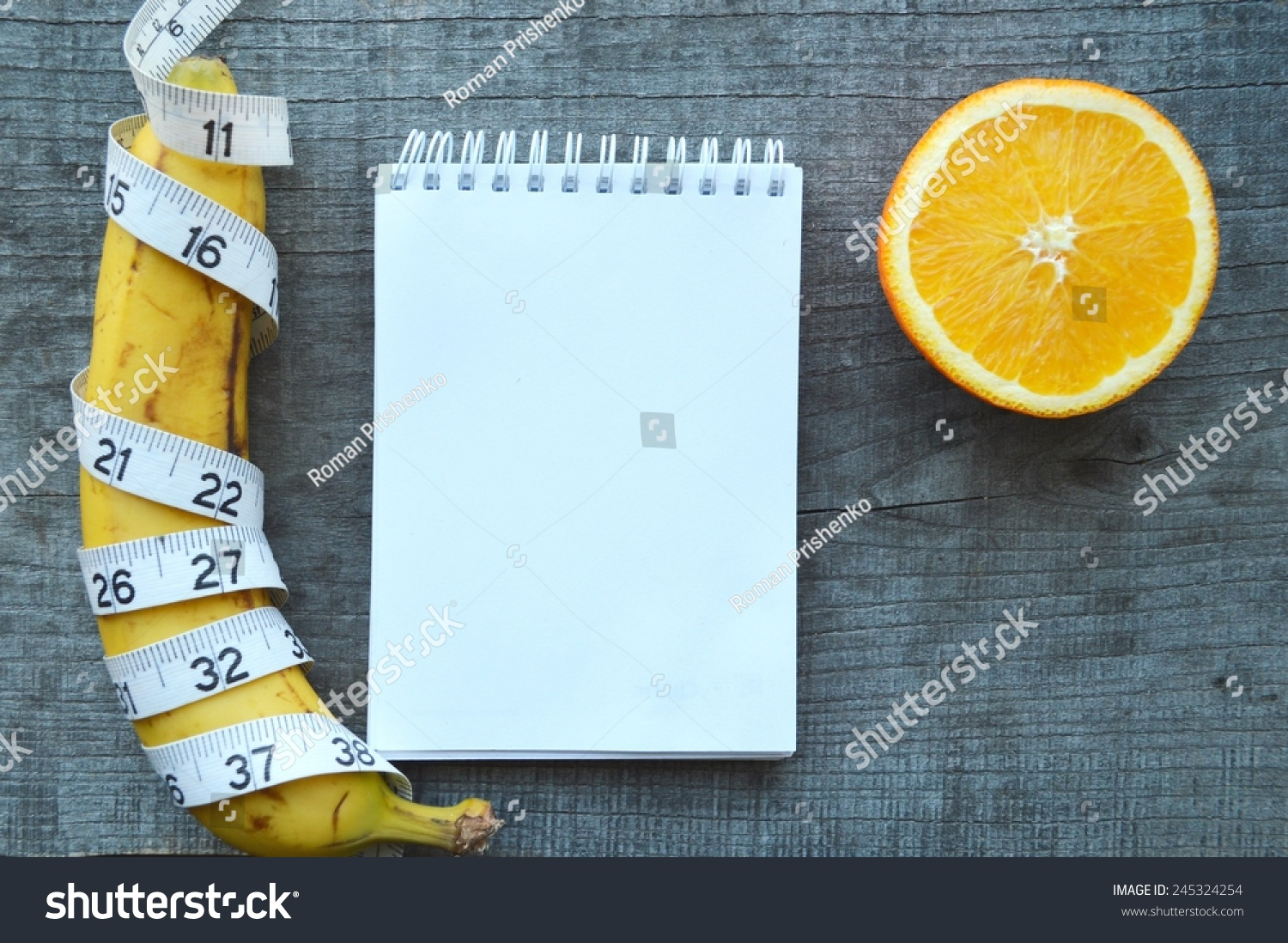 Wondrous Vegetables Fruits Weight Loss Measuring Tape Stock Photo Download Free Architecture Designs Scobabritishbridgeorg