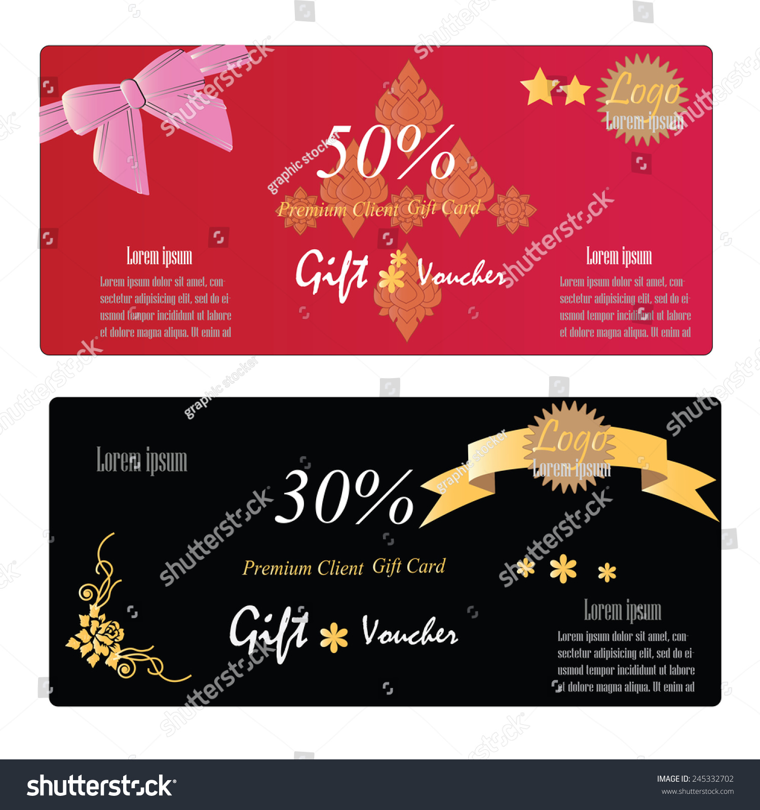Gift voucher gift certificate coupon template stock vector gift voucher gift certificate coupon template gift voucher vector 1betcityfo Images
