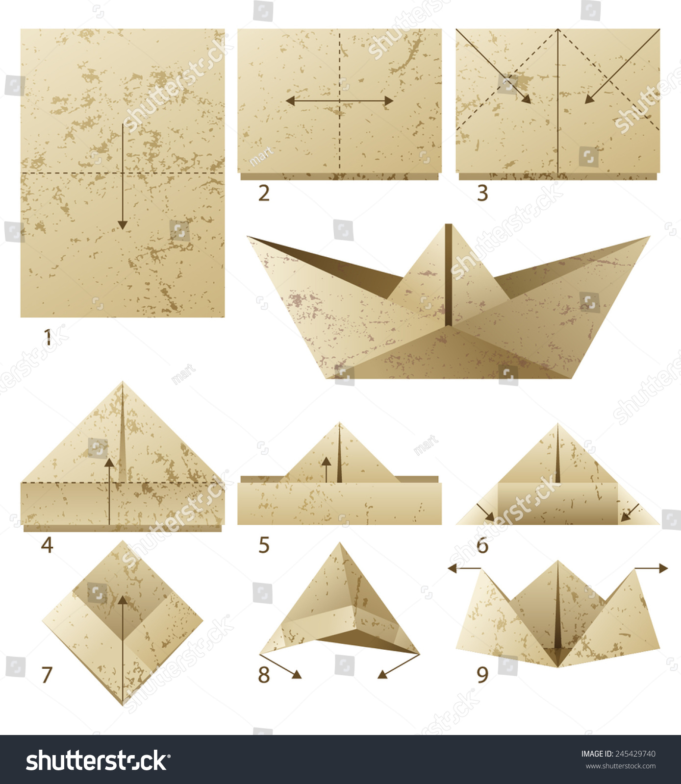 how to make a paper boat steps - Google Search | Make a paper boat ... | 1600x1389