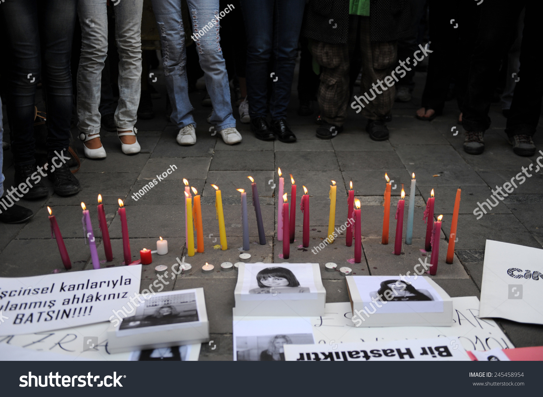 Izmir Turkey April 28 Memorial Held Stock Photo Edit Now 245458954